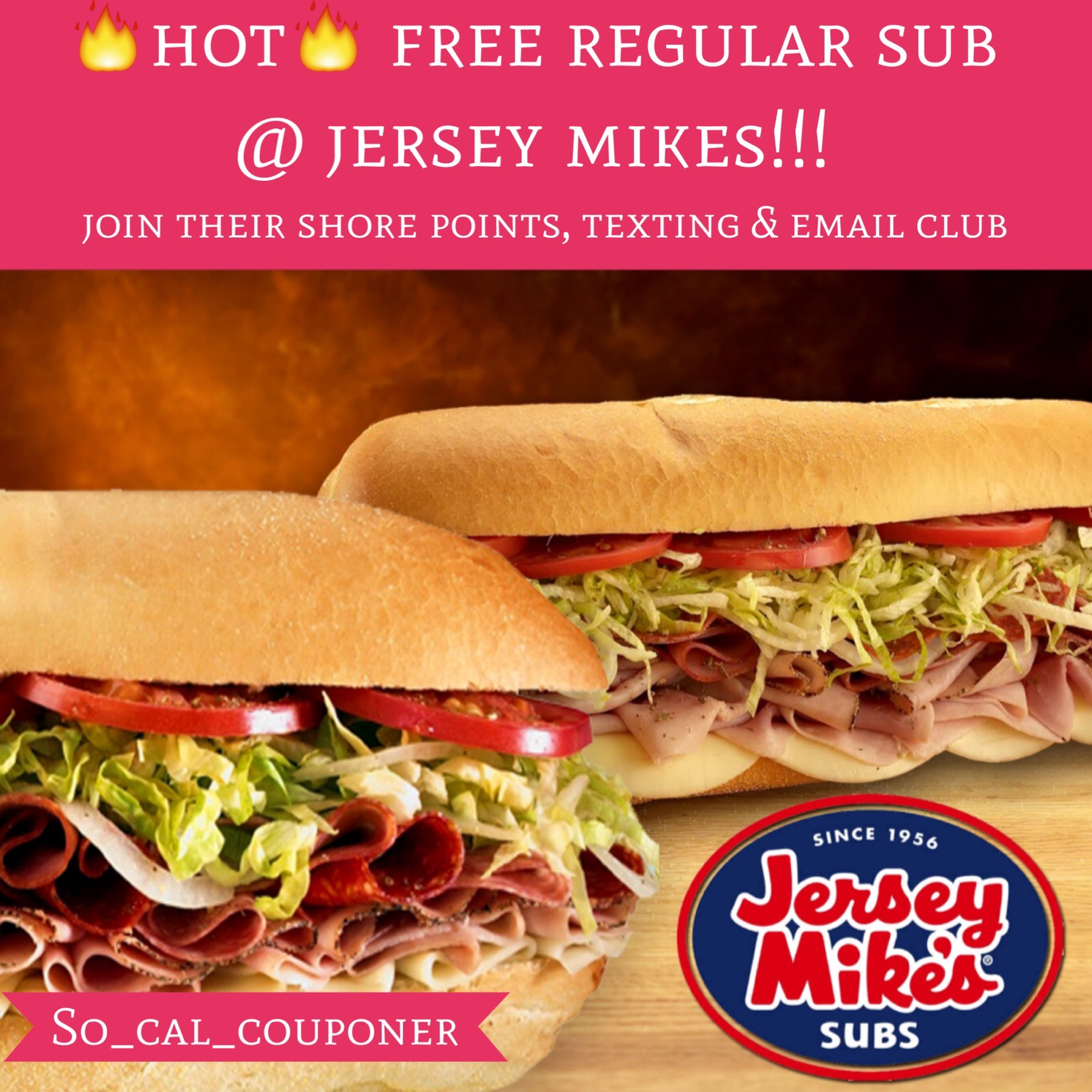 Jersey mikes deals