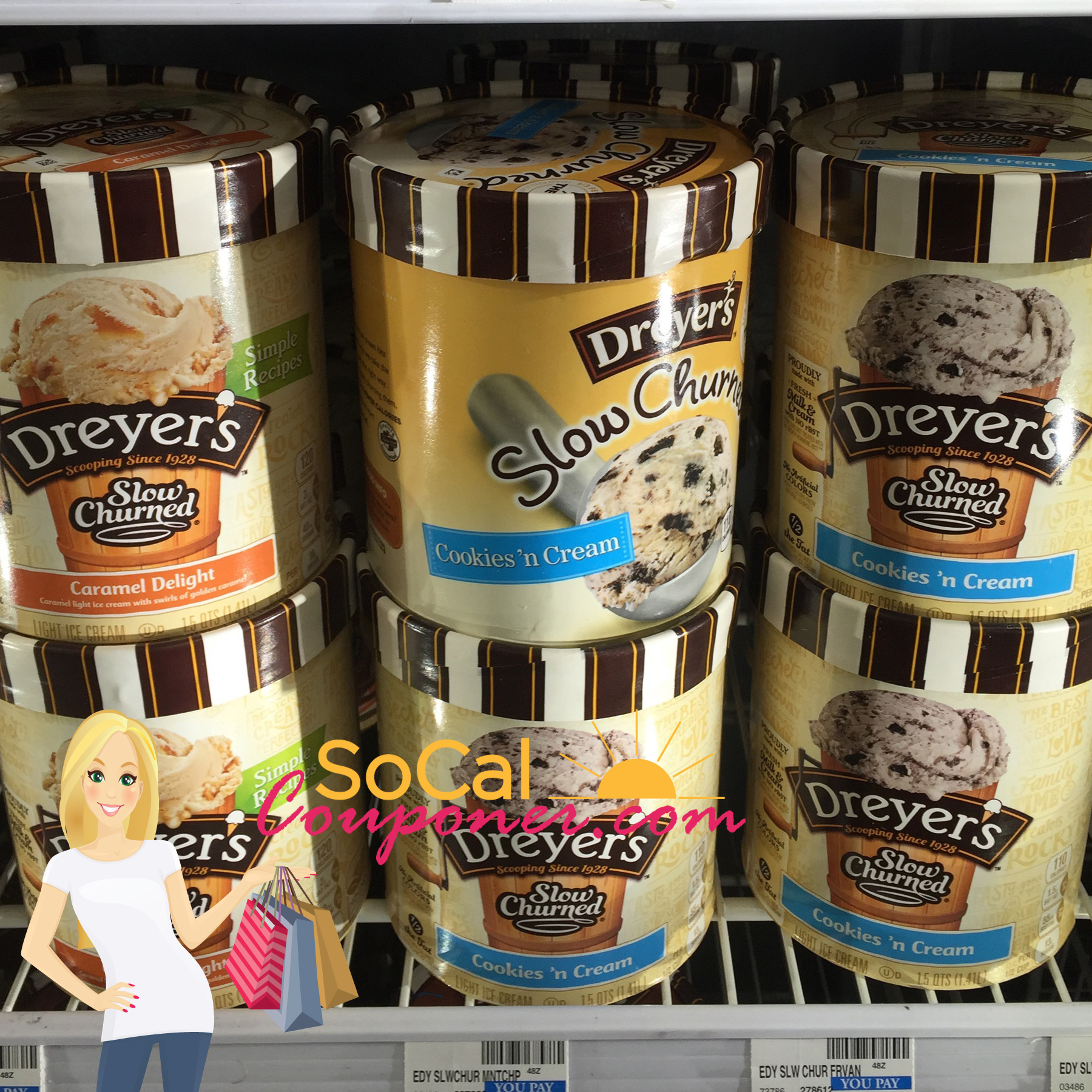only  2 99 dryers ice cream  regular  6 29    cvs