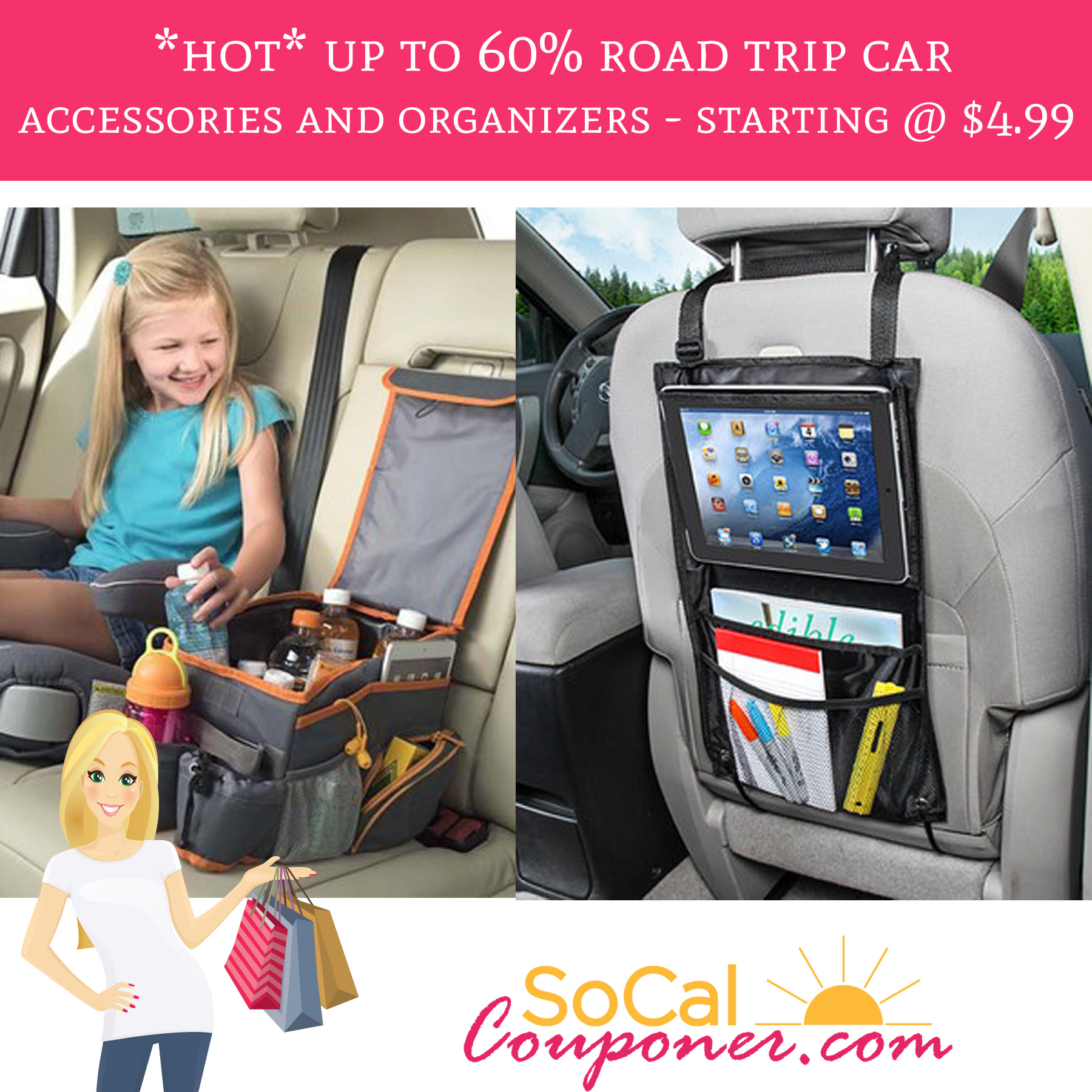 Hot Up To 60 Road Trip Car Accessories Amp Organizers