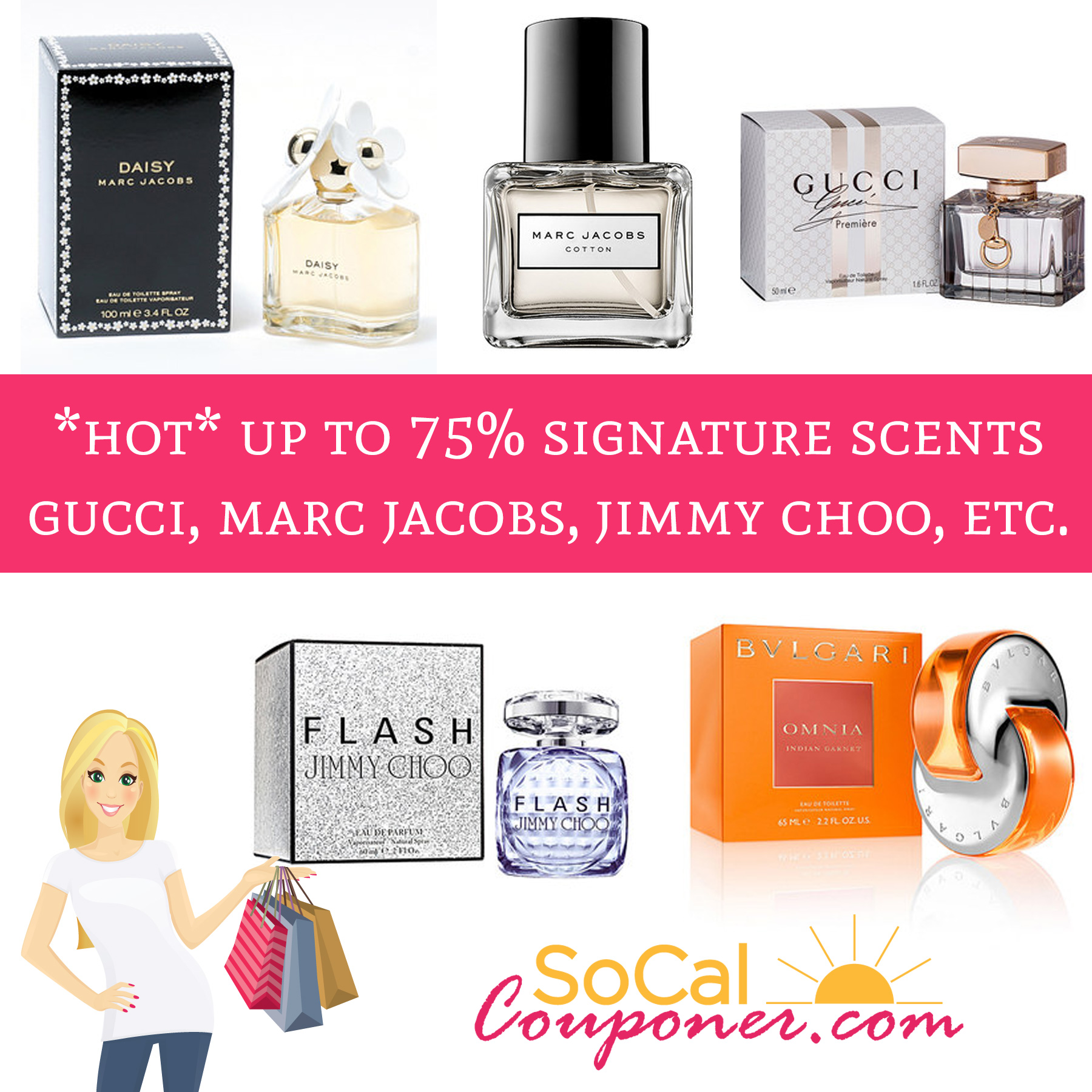 *HOT!* Up To 75% Off Signature Scents