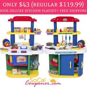 WOW!! Only $43 (regular $119.99) Deluxe Children Kitchen ...