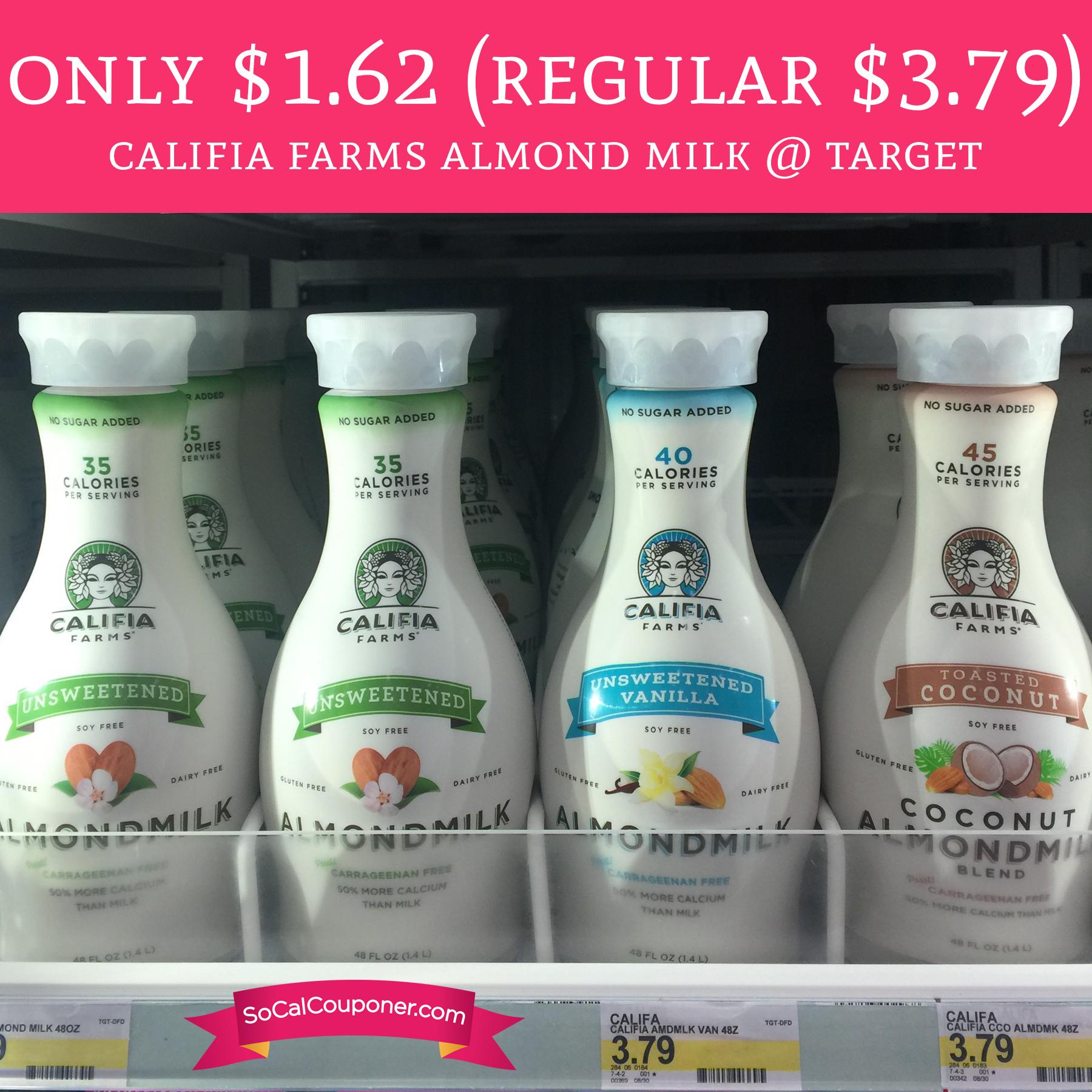 califia farms coupons 2019