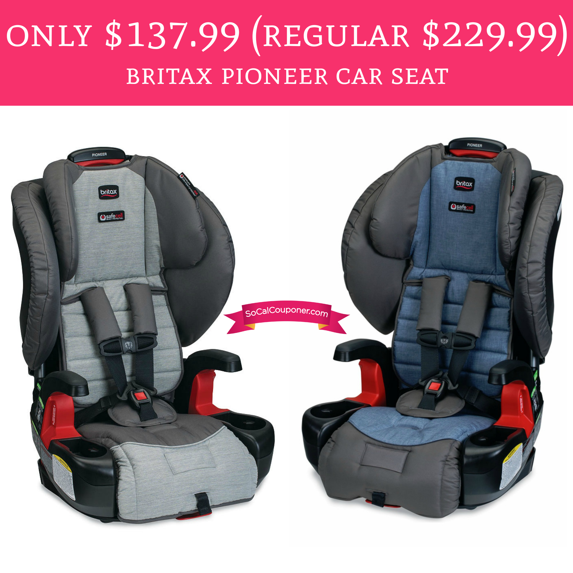 Head On Over To Amazon Score An Britax Pioneer Car Seat For Only 13999 Regular Price 22999 This Is Highly Rated At 45 Stars With 400 Reviews