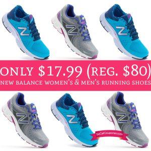 b5dd4dc506a5d Head on over to Kohl's to score a New Balance Women's & Men's Running Shoes  for just $17.99 (regular $65) PLUS Free Shipping, Sweet! I just scored 2 ...