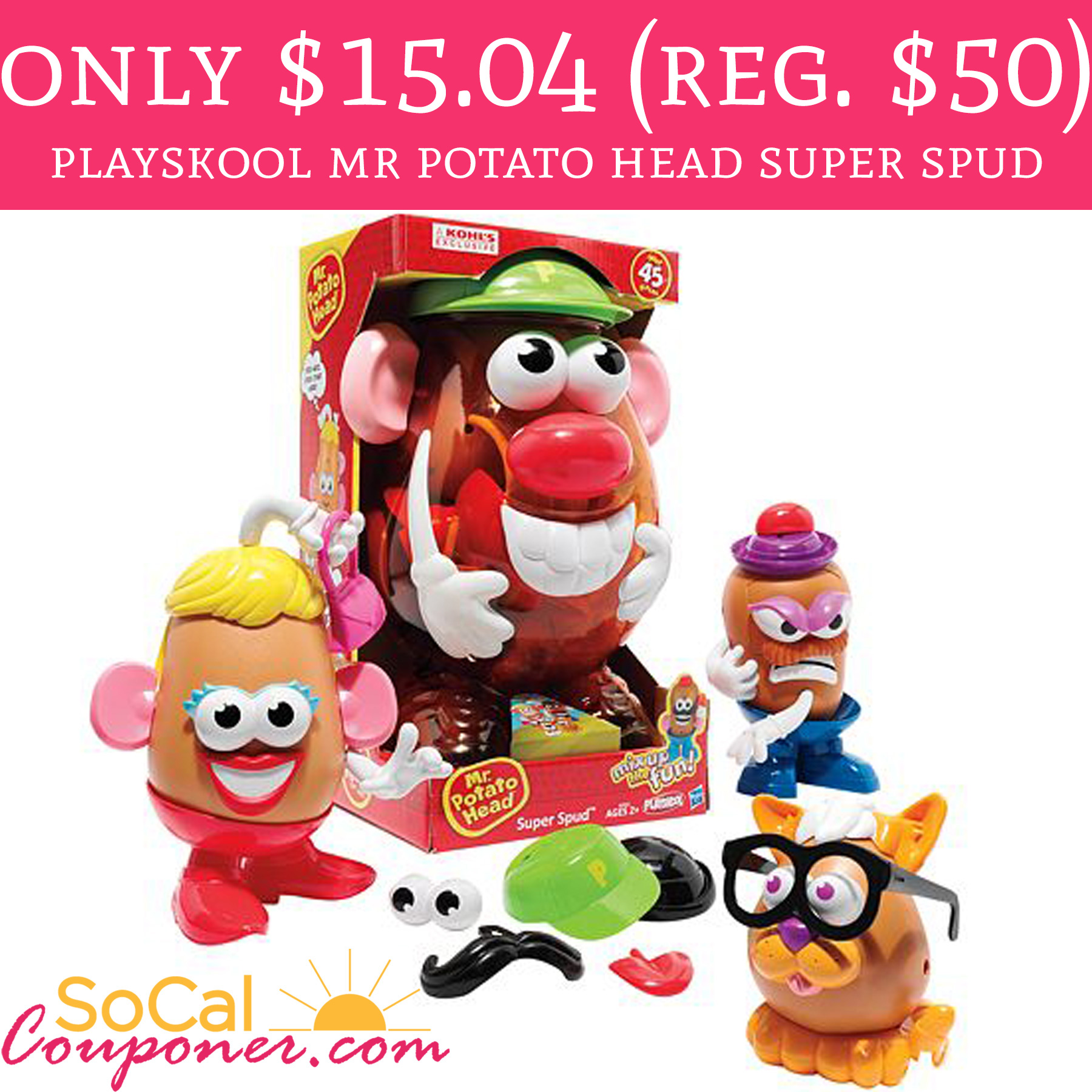 Today 11 11 Only Just 15 04 Playskool Mr Potato Head