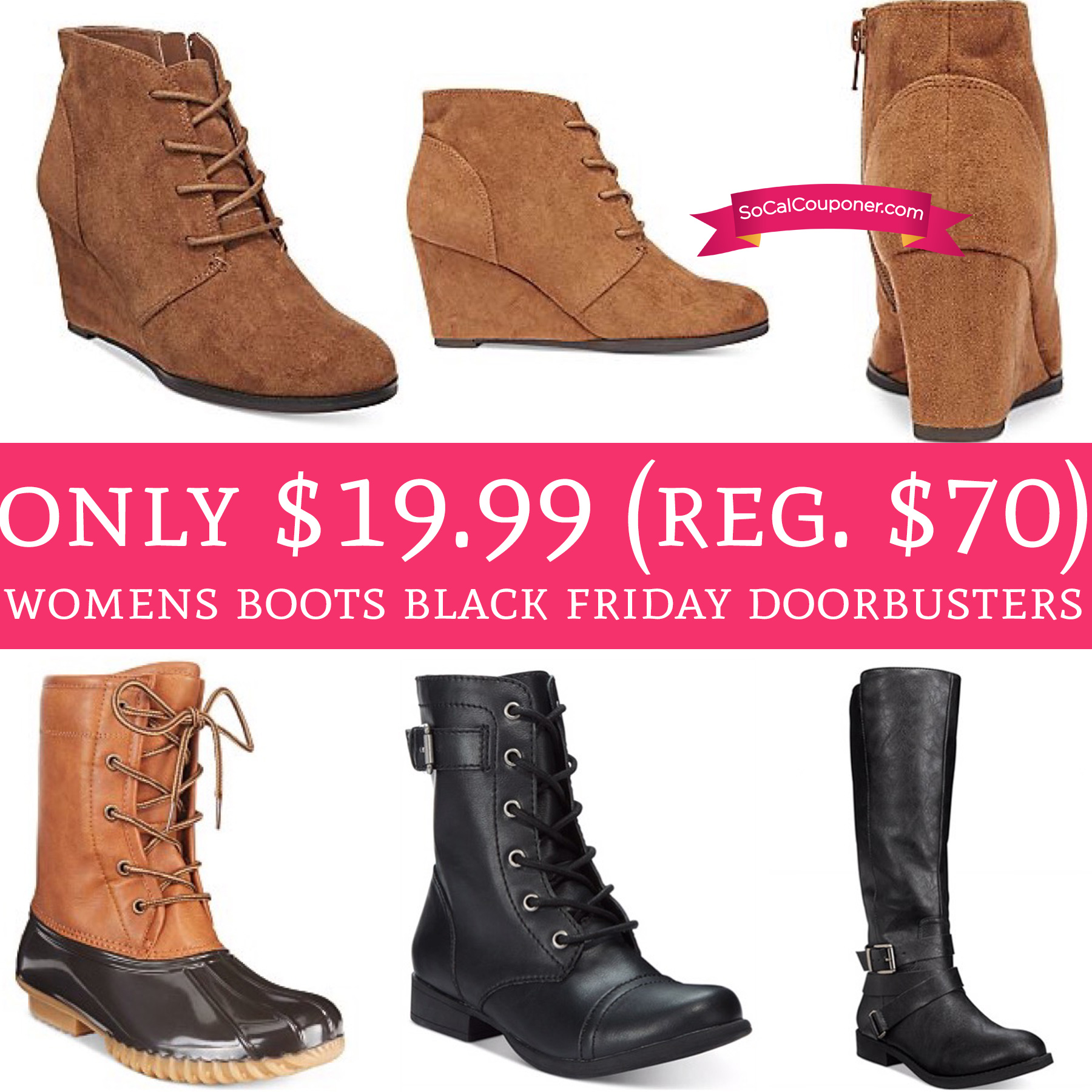 only 19 99 regular up to 70 s boots black friday