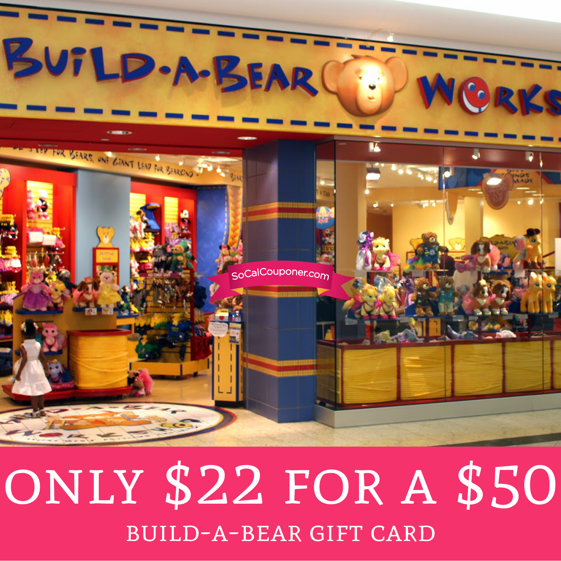 hurry only 22 for a 50 build a bear gift card deal hunting babe. Black Bedroom Furniture Sets. Home Design Ideas