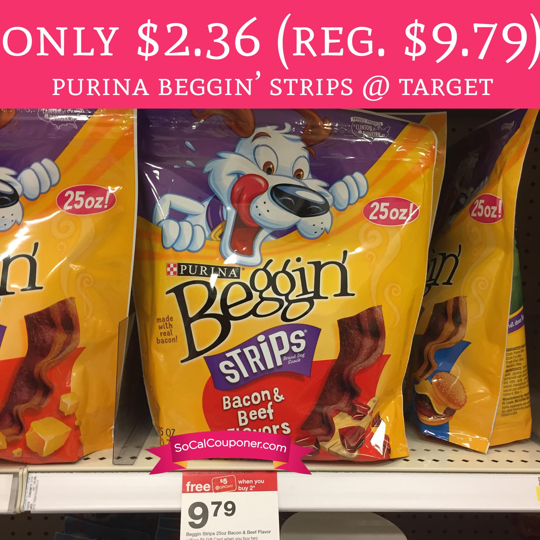 Bogo beggin strips coupon 2018