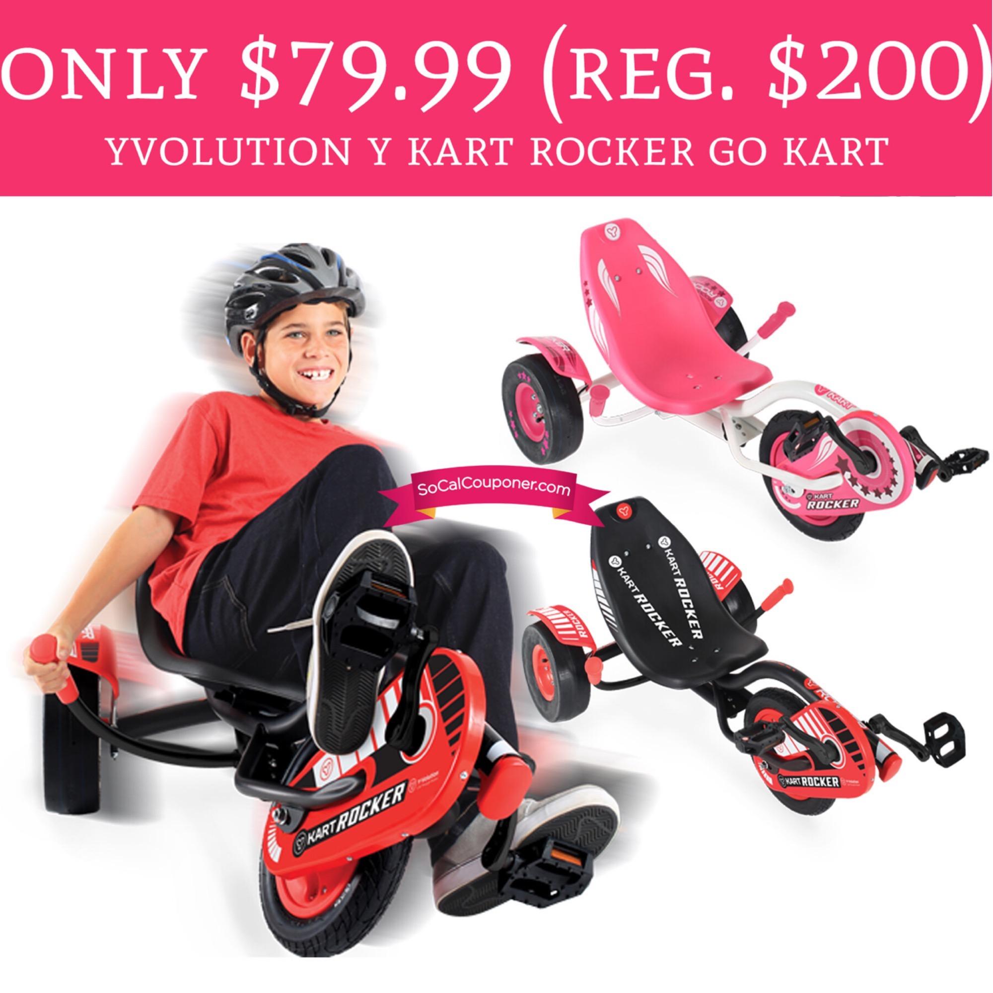 Only 79 99 Reg 200 Yvolution Y Kart Rocker Go Kart