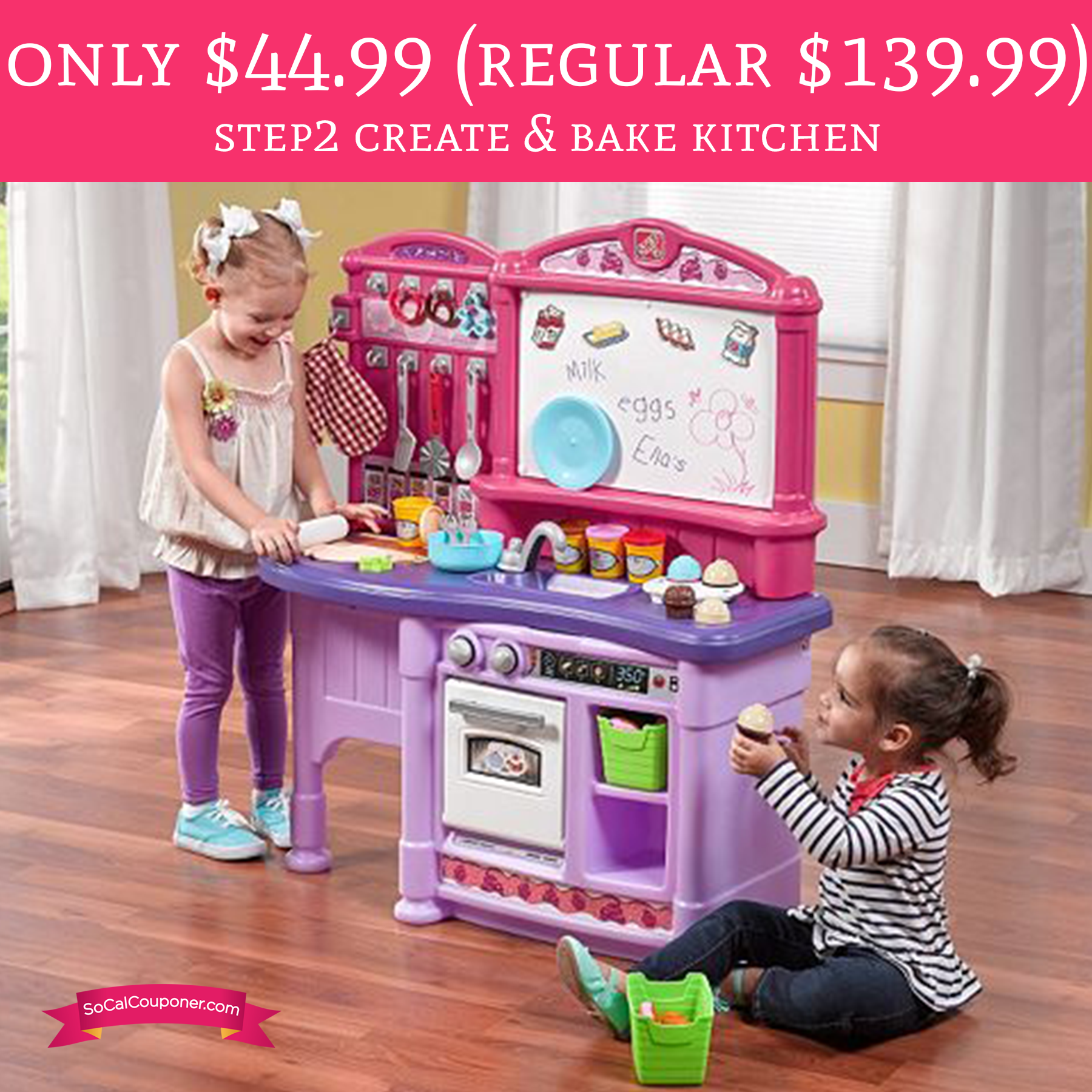Only $44.99 (Regular $139.99) Step2 Create & Bake Kitchen ...