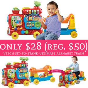 Only 28 Regular 50 Vtech Sit To Stand Ultimate Alphabet Train