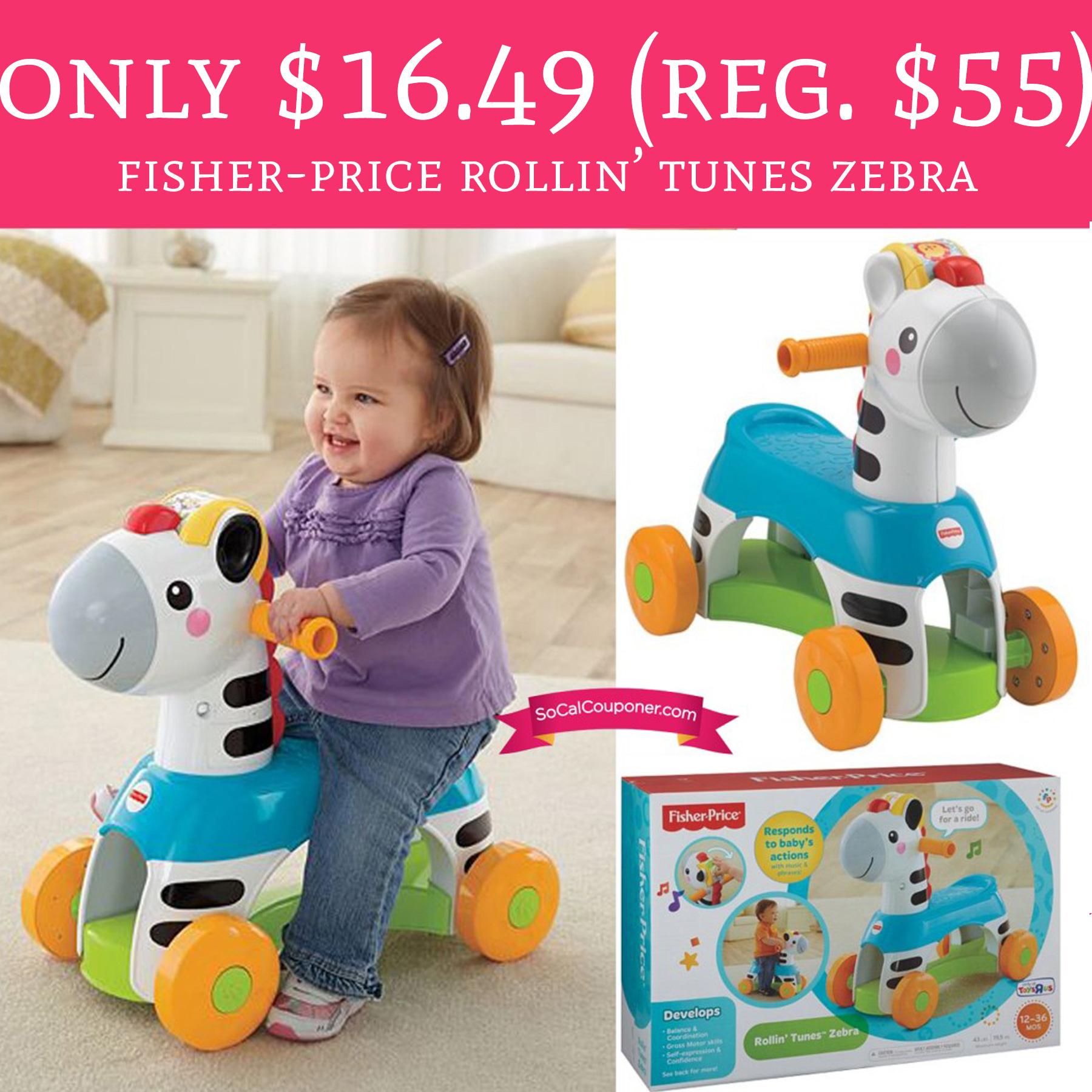 Run Only 16 49 Regular 55 Fisher Price Rollin Tunes