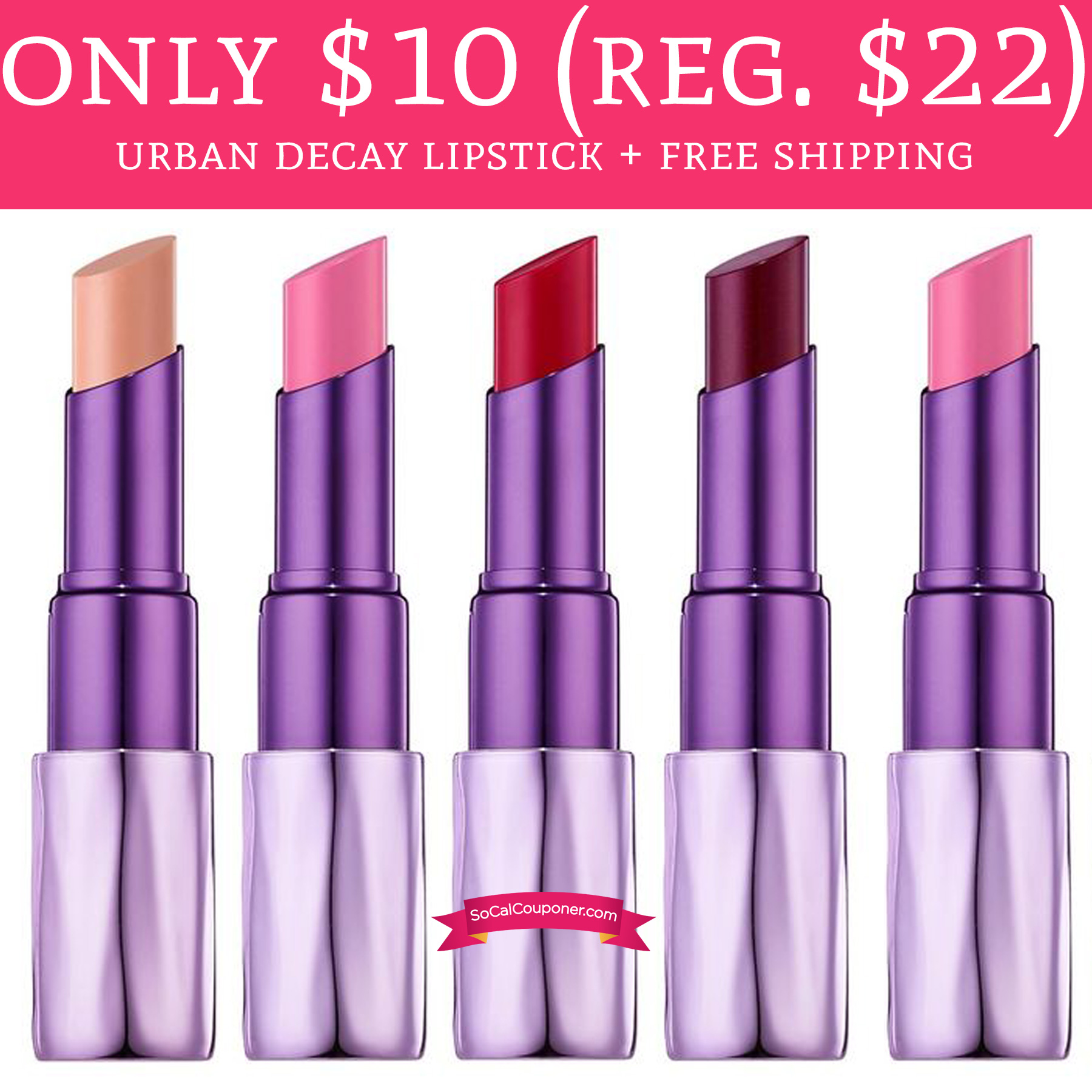 Urban Decay Coupons. lip gloss, lip pencil, lip brush, and the list goes on. Now before you place your order online, grab yourself an Urban Decay coupon to enjoy instant savings at checkout. Shop sanjeeviarts.ml All Offers 5; Coupon Make sure you use the promotional code to get free shipping on all orders! Expired: 12/4/ Expired 12/5/