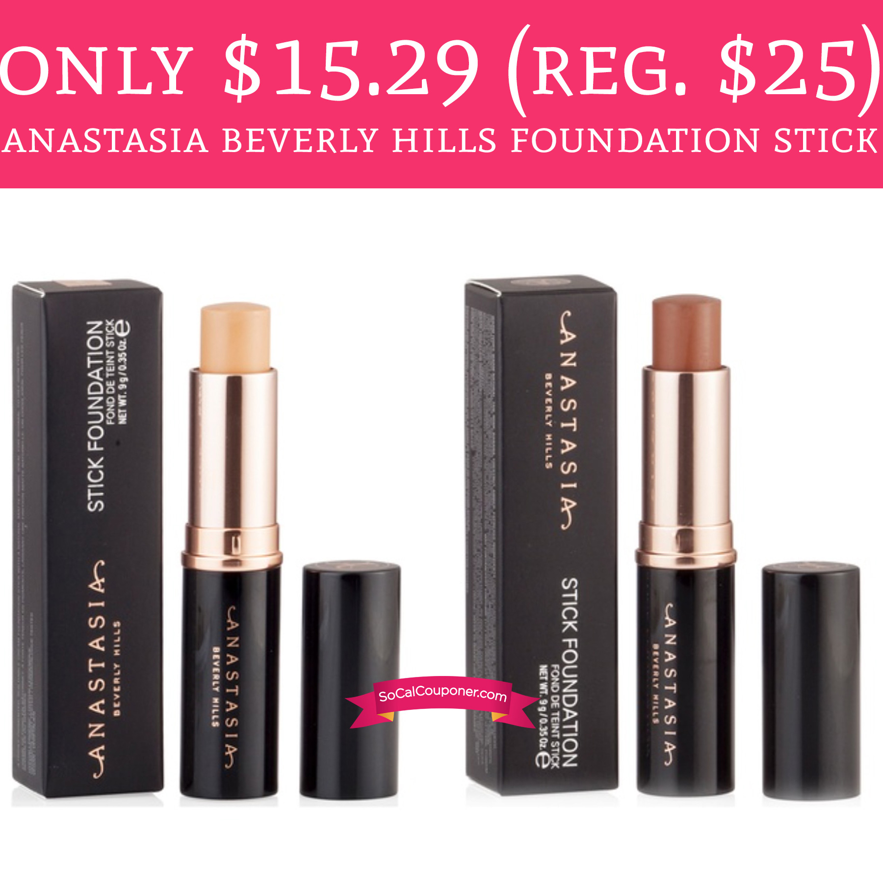 Anastasia cosmetics coupons