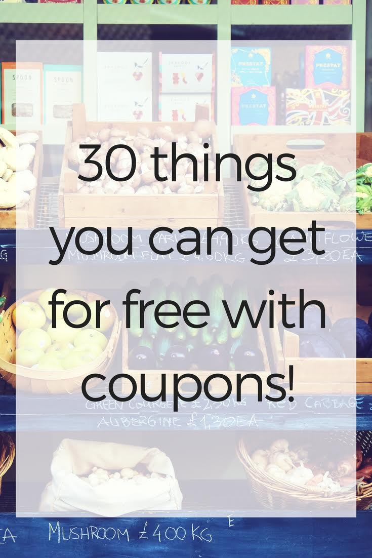 Get your printer ready because I just created the grand daddy of printable coupon sites for ya! Here's a list of websites that you can use to get FREE.