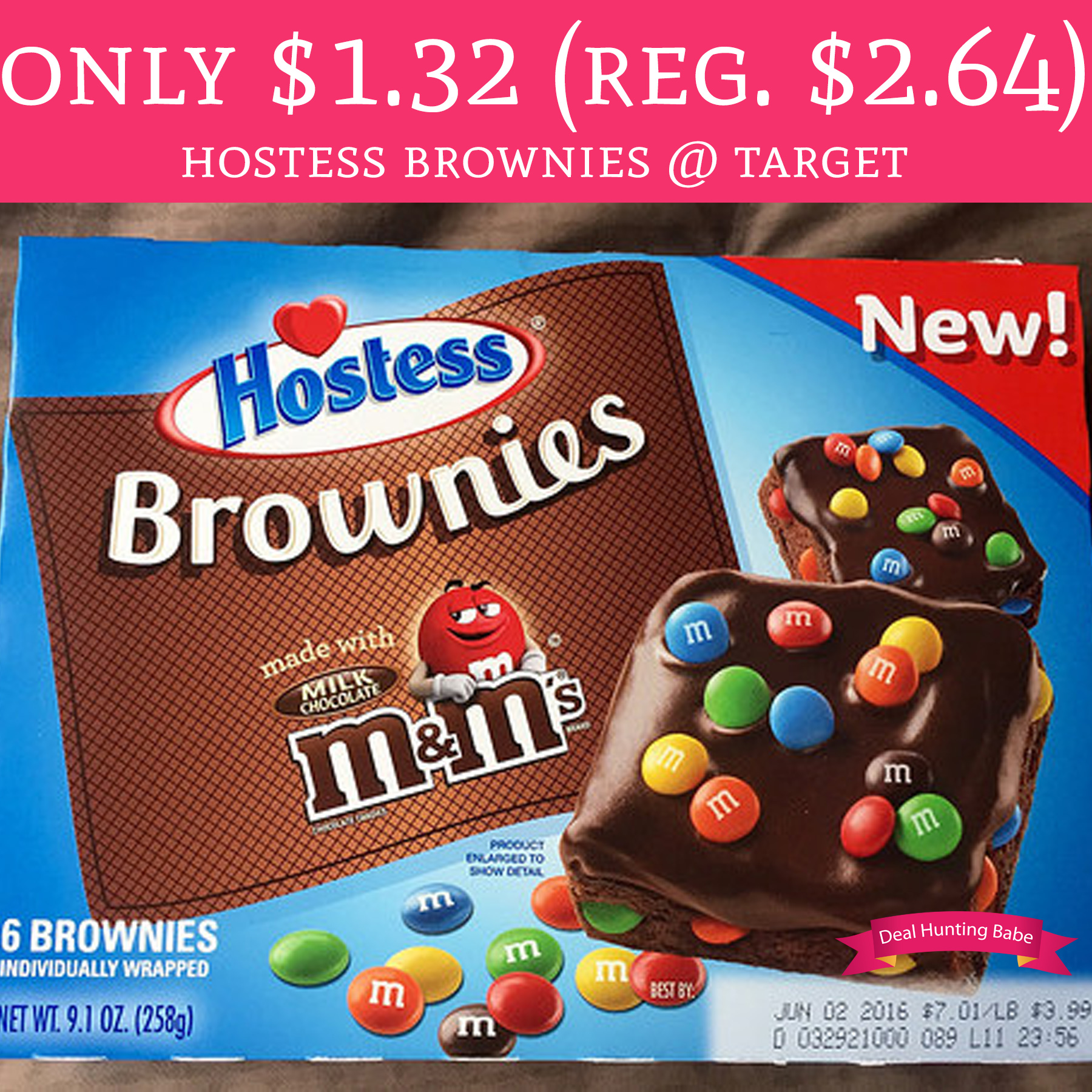only  1 32  regular  2 64  hostess brownies