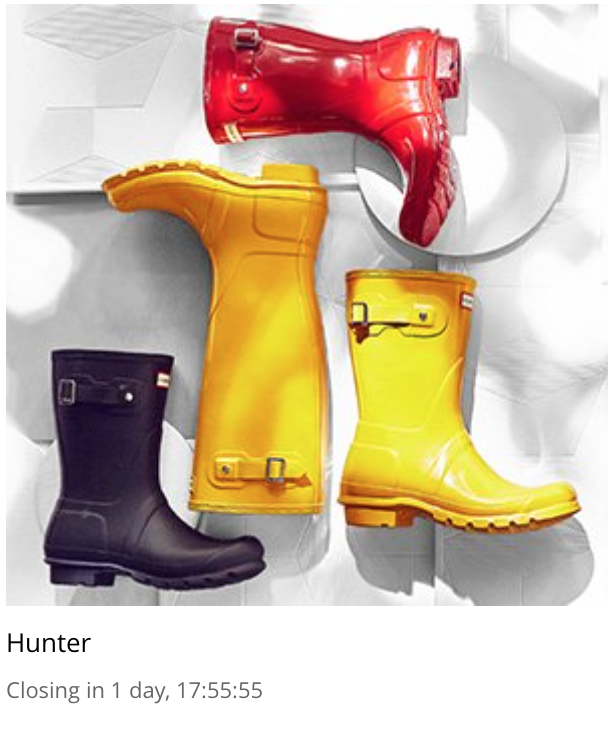 8604776da1 The gloss red are gorgeous and my favorite! Hunter Boots rarely go on sale  so I would definitely check this sale out. Browse the sale here!