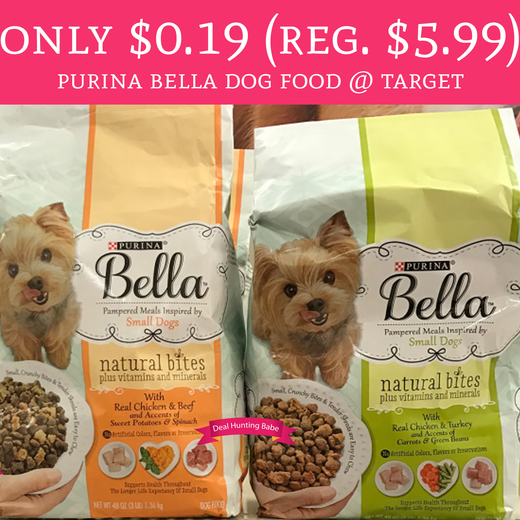 5/14 Only - $0.19 (Regular $5.99) Purina Bella Dog Food ...
