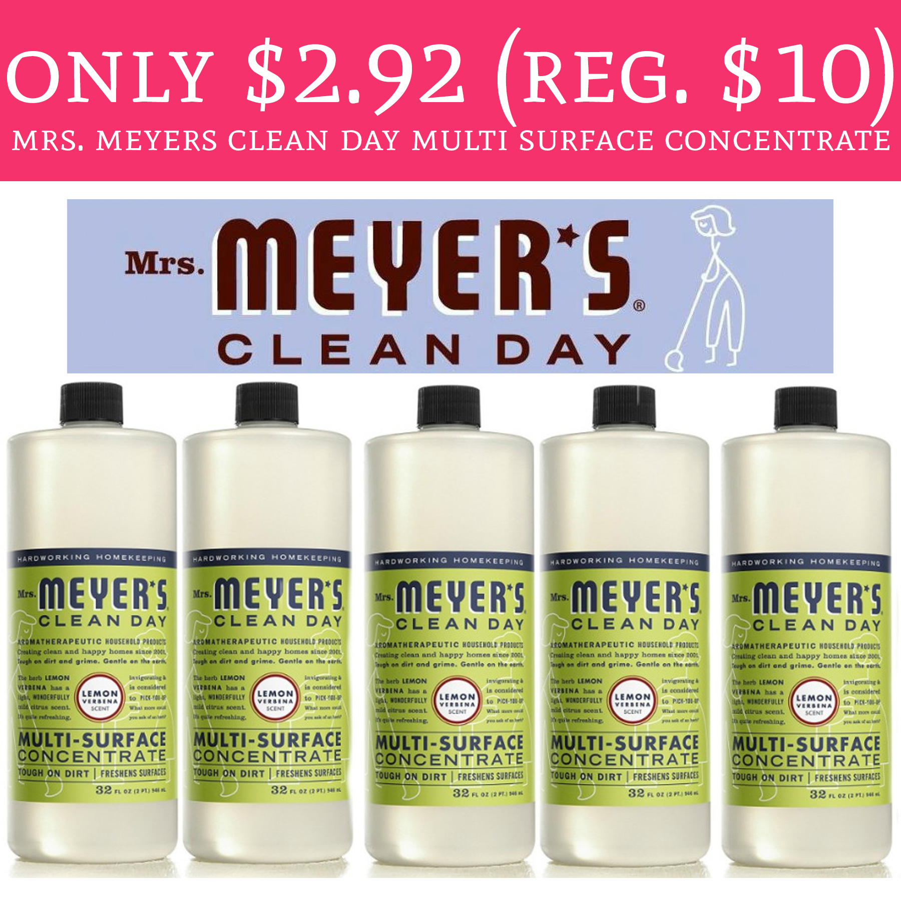 Mrs meyers coupon code