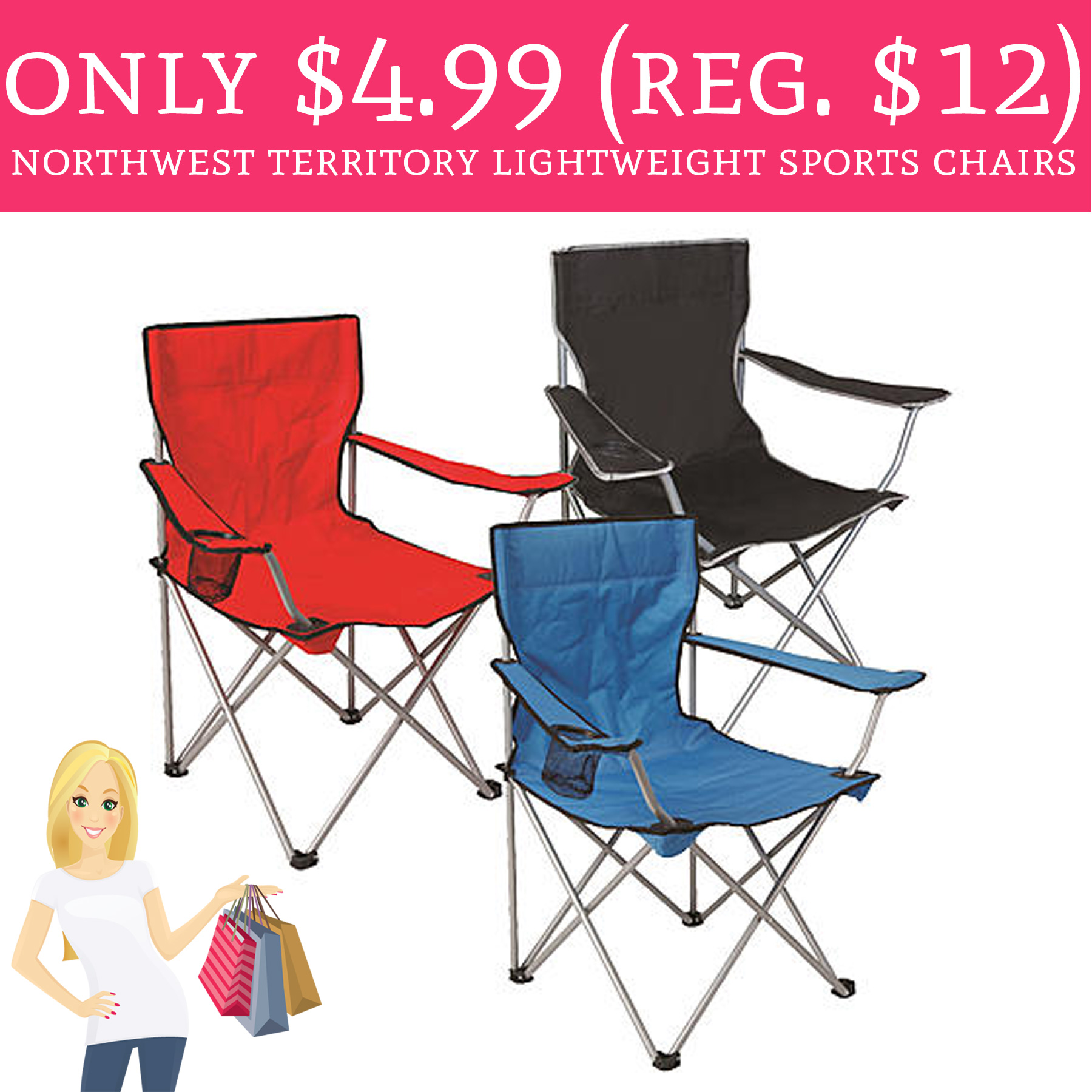 Perfect for Summer!  sc 1 st  Deal Hunting Babe & Only $4.99 (Regular $12) Northwest Territory Lightweight Sports ...