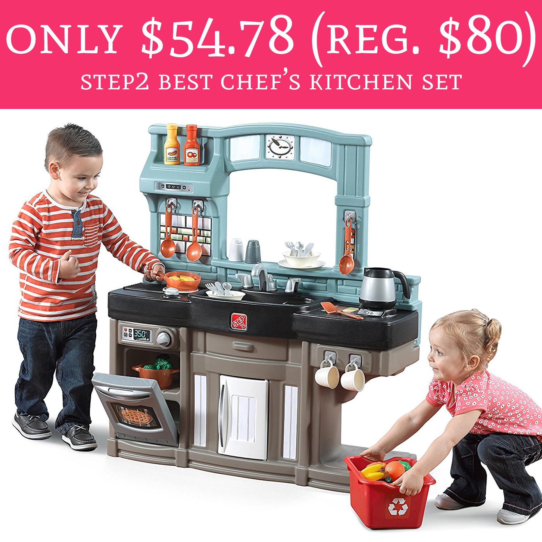 Only regular 80 step2 best chef 39 s kitchen set for Kitchen set deals