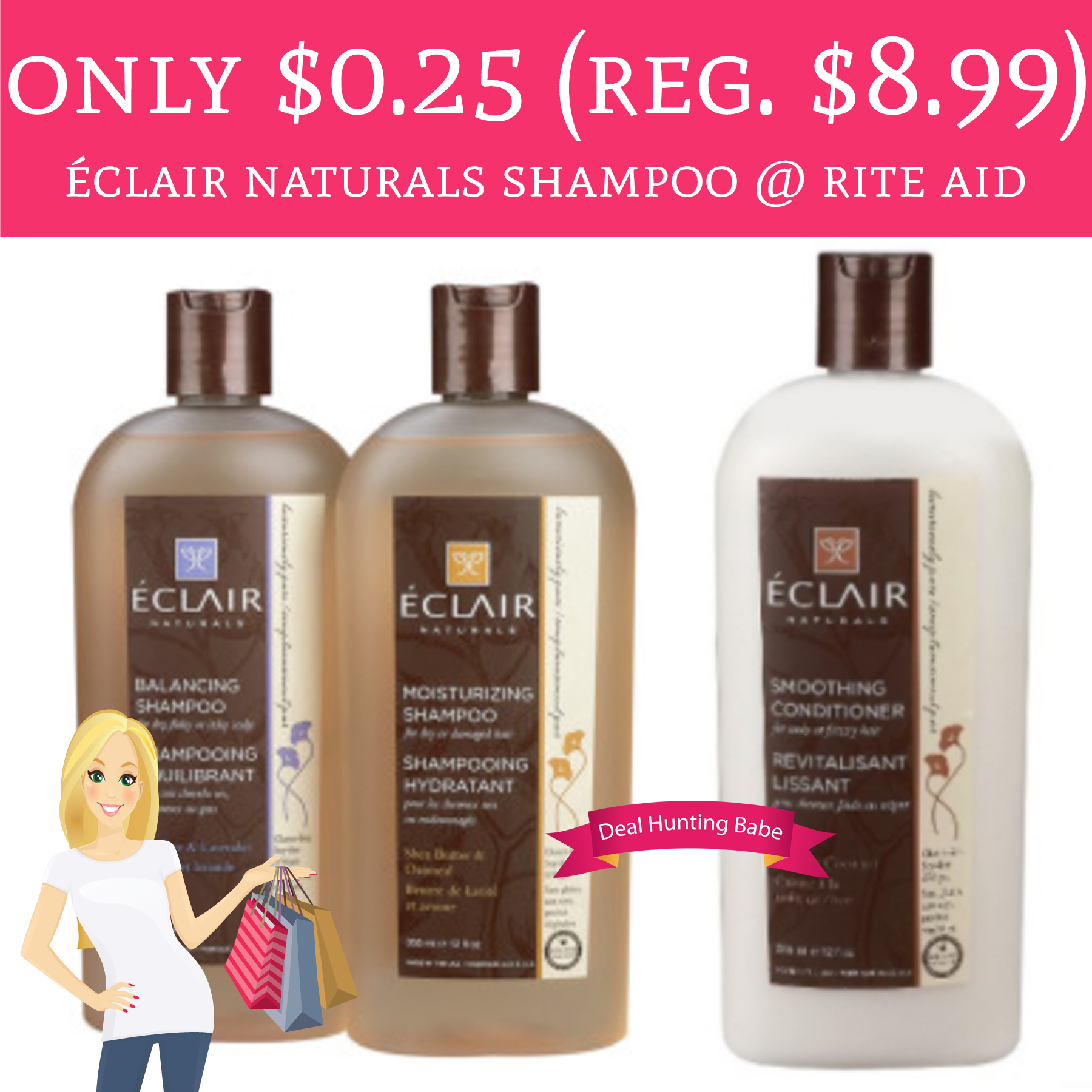 Rite Aid Stock Quote: Only $0.25 (Regular $8.99) Éclair Naturals Shampoo @ Rite