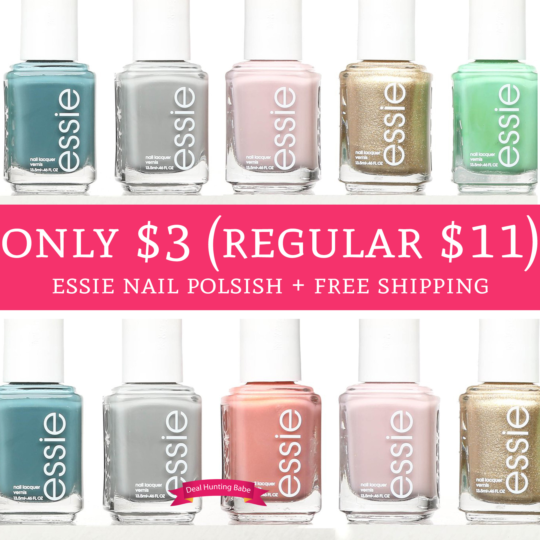WOW! Only $3 (Regular $11) Essie Nail Polish + Free Shipping - Deal ...