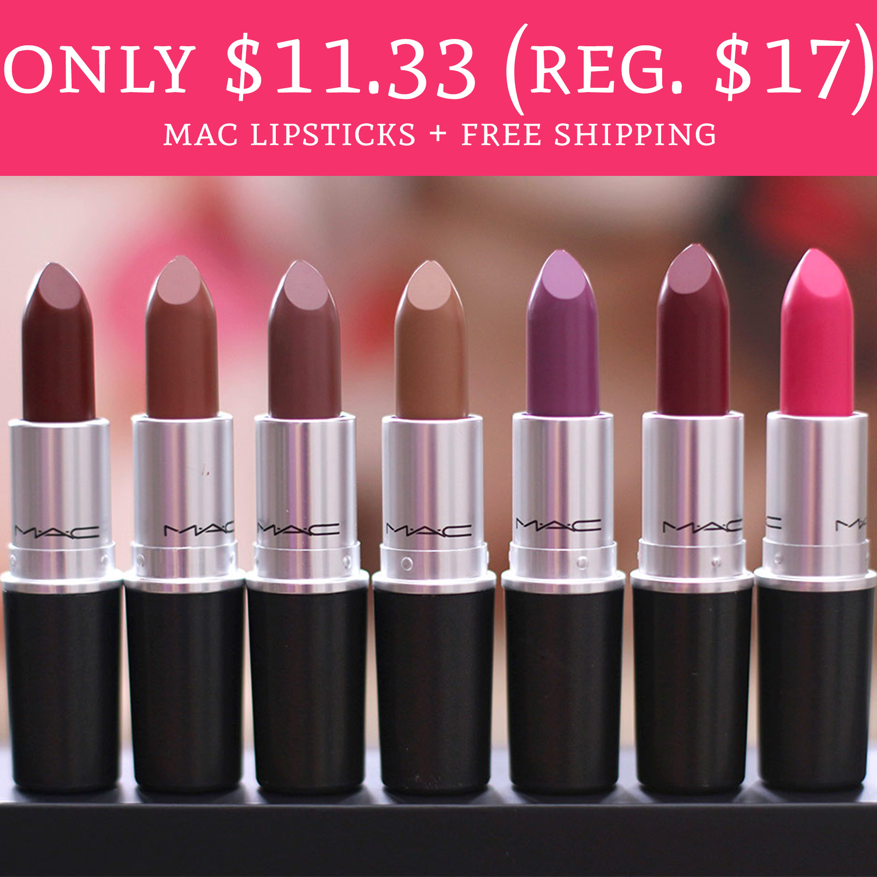 How to use a MAC Cosmetics coupon MAC Cosmetics offers various discounts and deals throughout the year. For a limited time, you can get free standard shipping on all of your orders%().