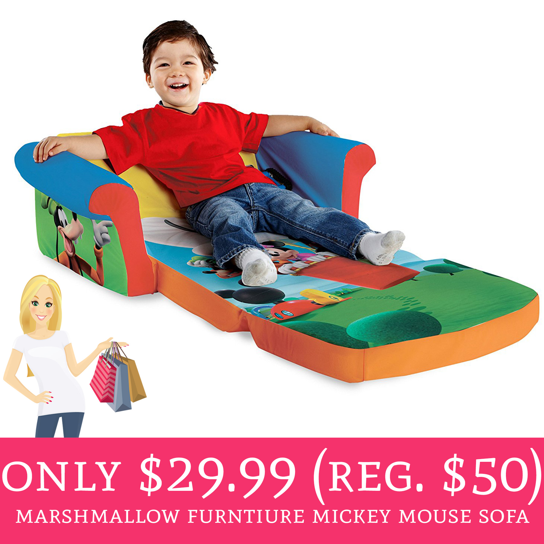 RARE Sale On Marshmallow Furniture!!