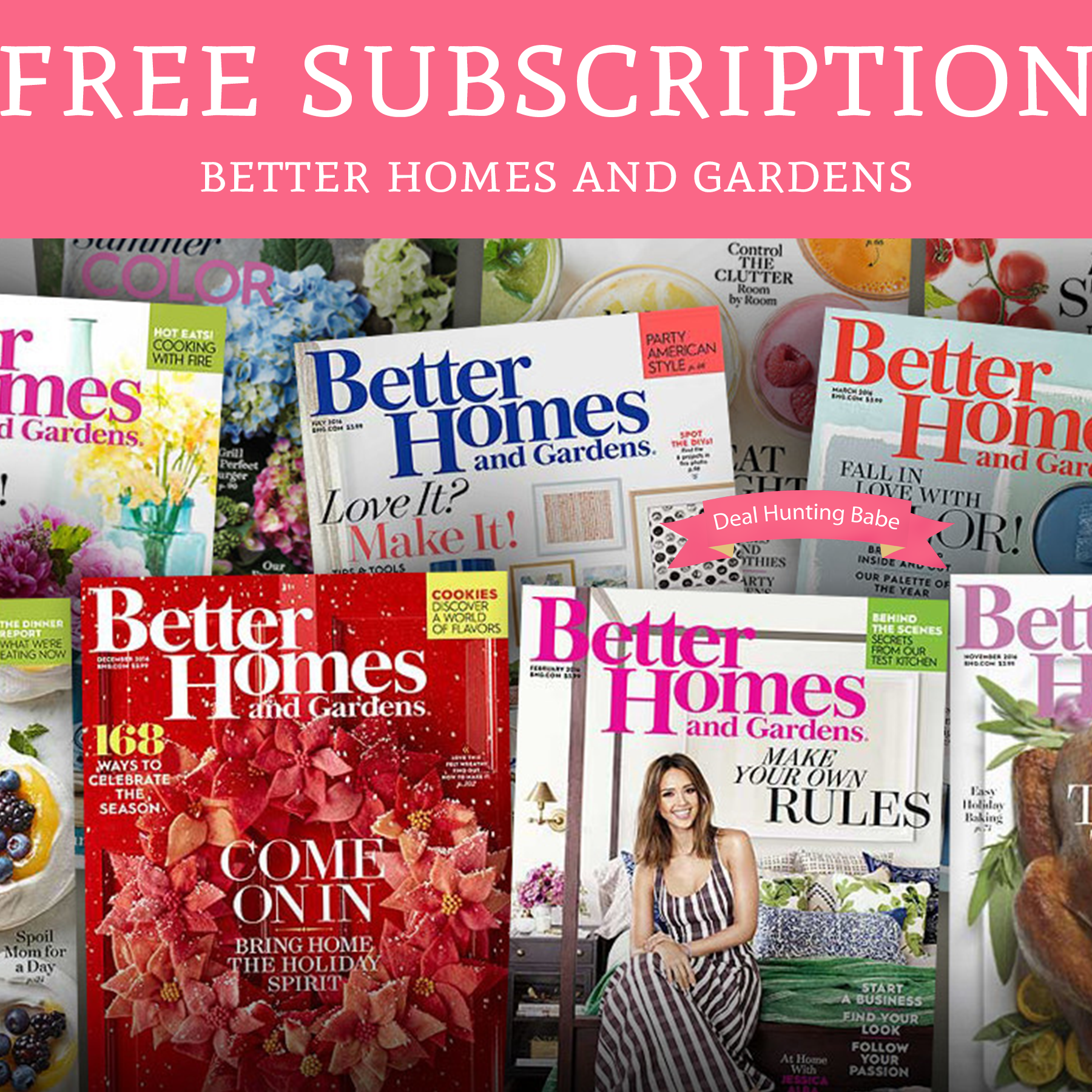 Free Better Home And Gardens Magazine Subscription Deal