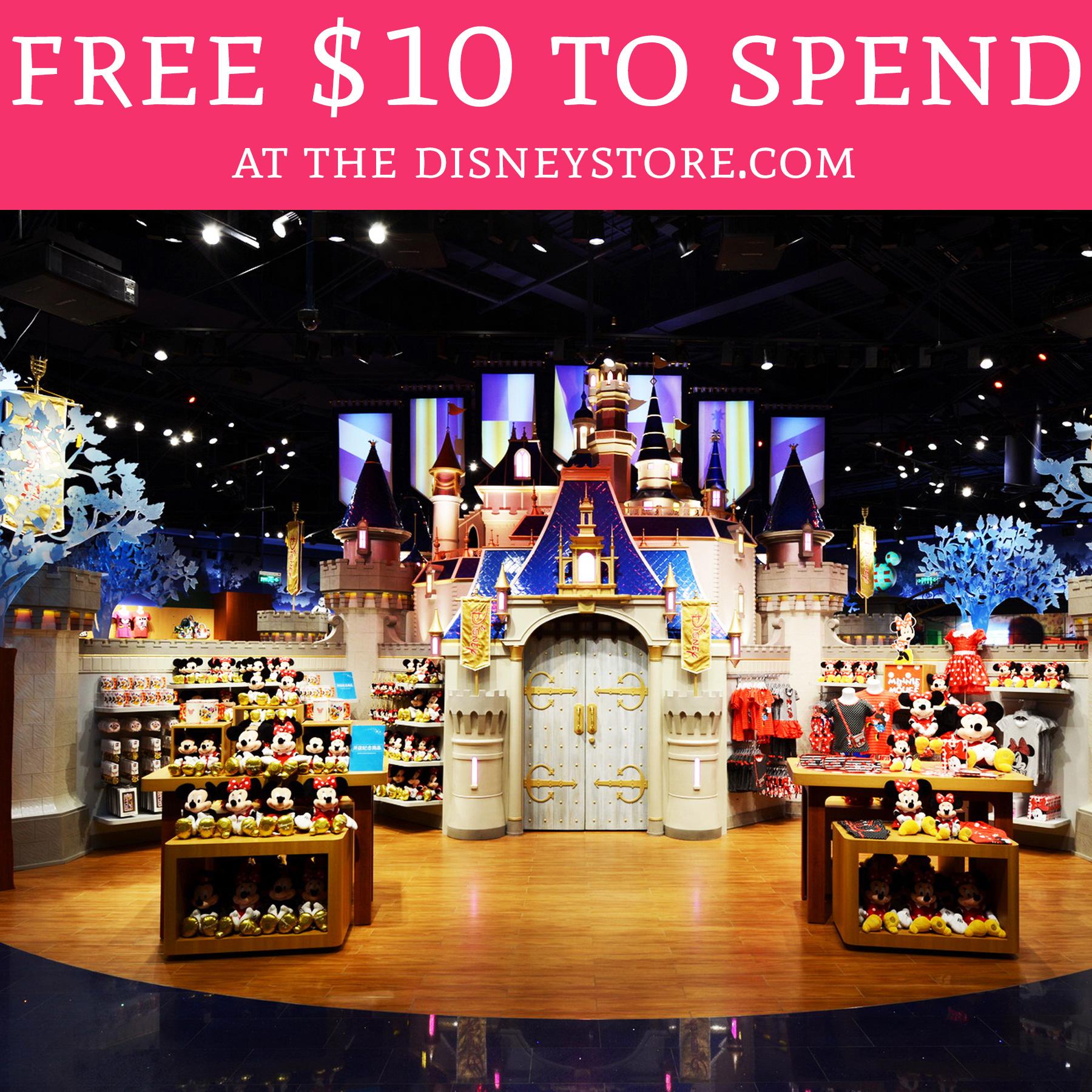 Hot Free 10 To Spend At The Disneystorecom -9816