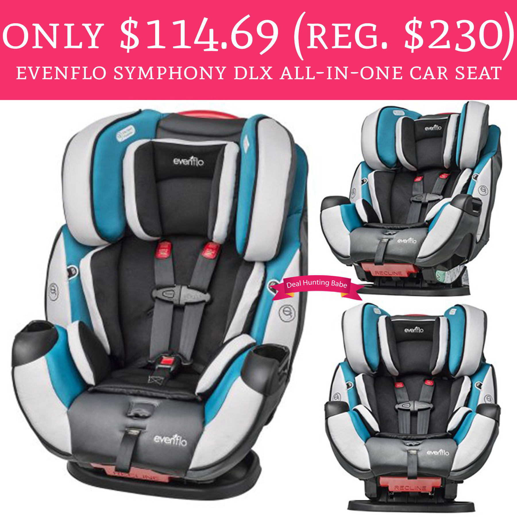 Calling All Parents And To Be Head Amazon Grab This Hot Deal On Evenflo Symphony DLX In One Convertible Car Seat