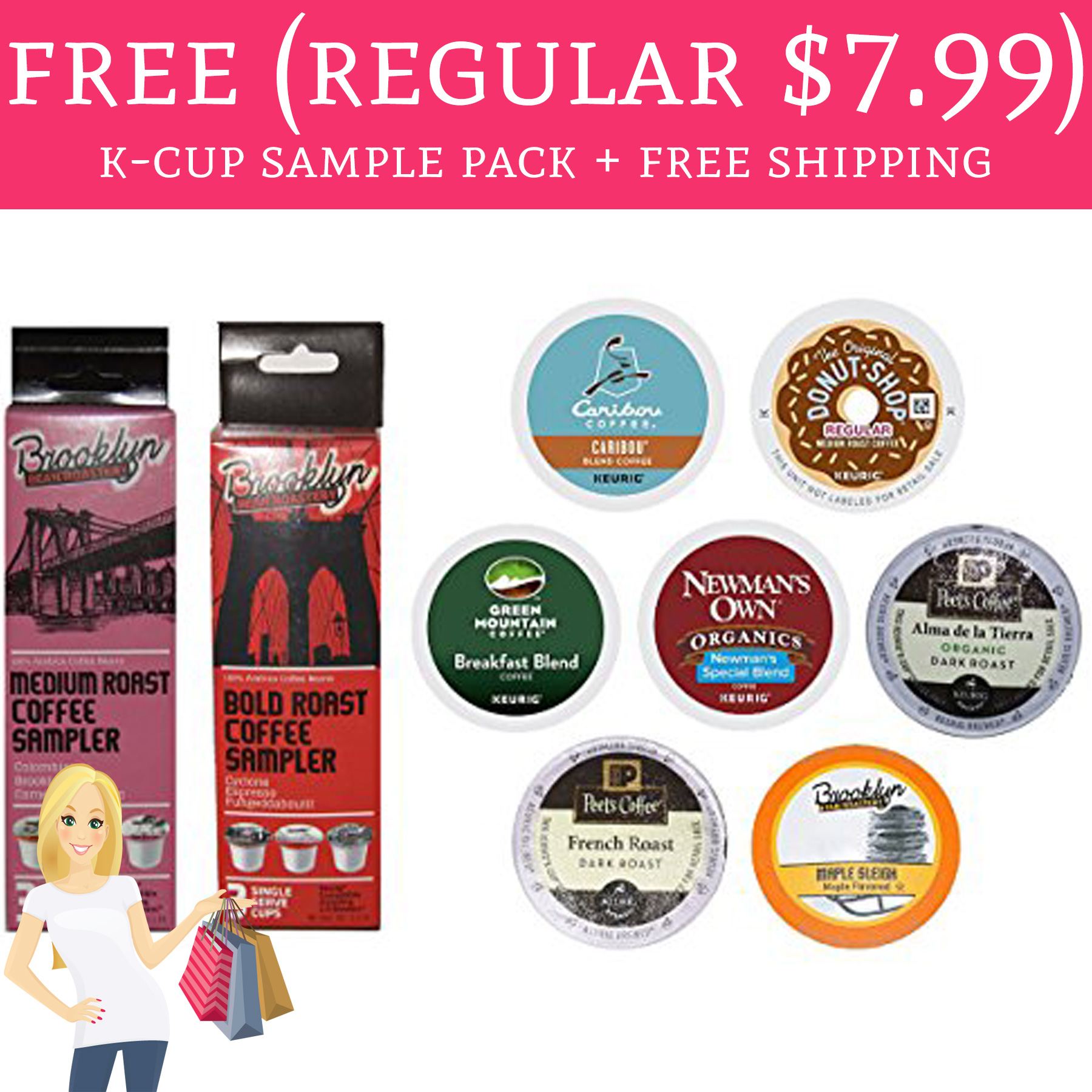 Free Coffee Anyone?! Free K-Cup Sample Pack + Free Shipping ...