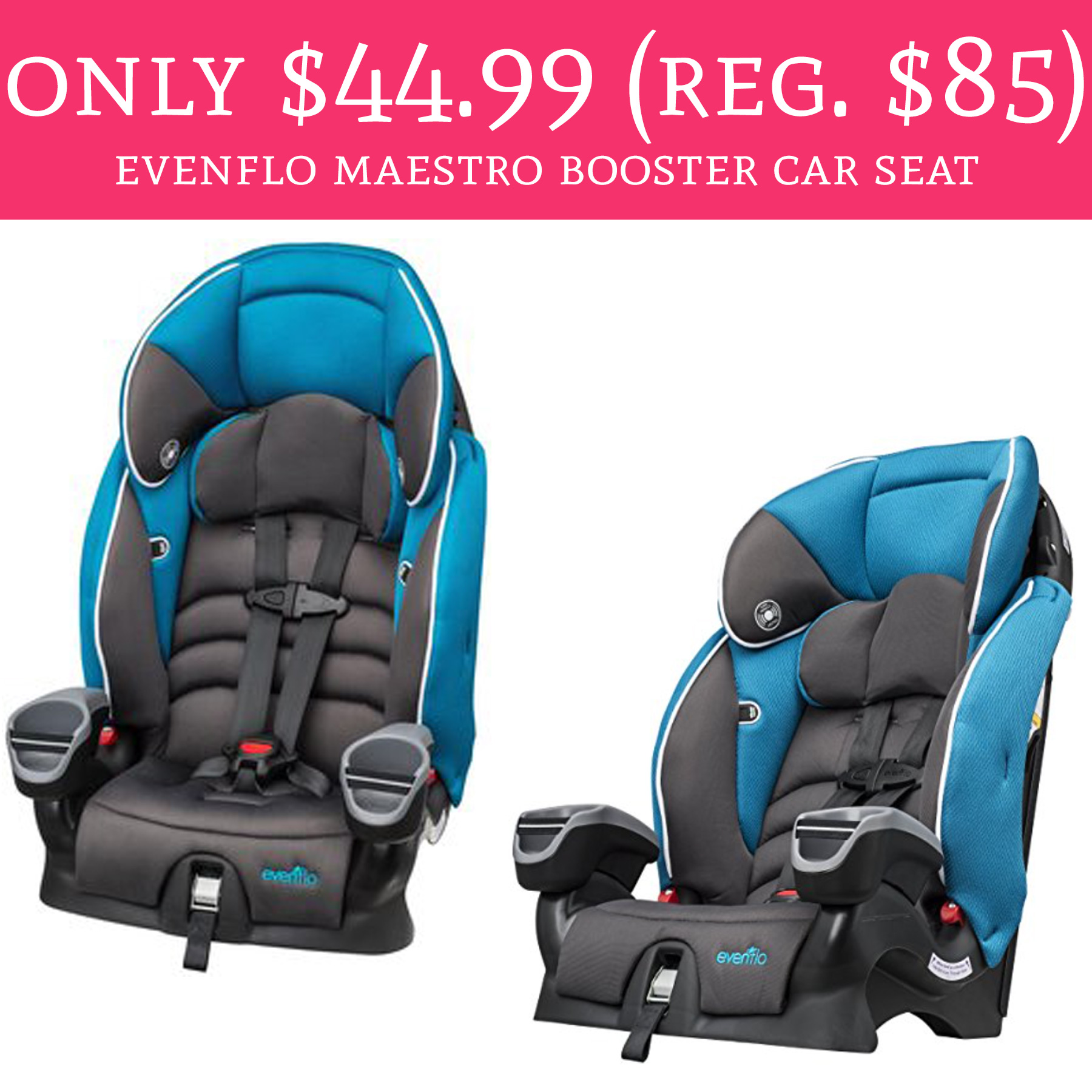 only regular 85 evenflo maestro booster car seat free shipping deal hunting babe. Black Bedroom Furniture Sets. Home Design Ideas