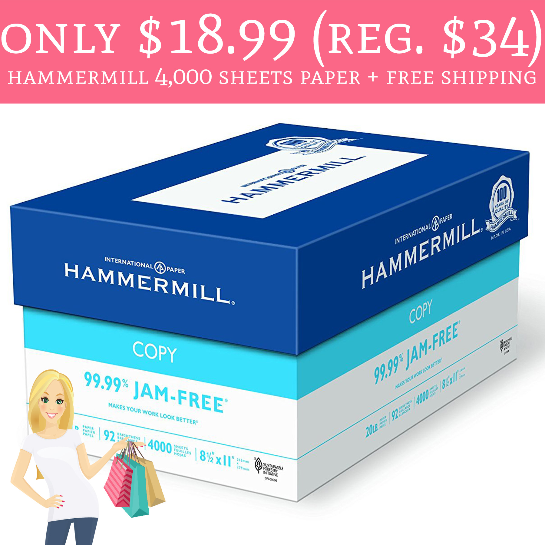 hammermill paper Find great deals on hammermill 28 pounds paper, including discounts on the hammermill 85 x 11 in copy paper.