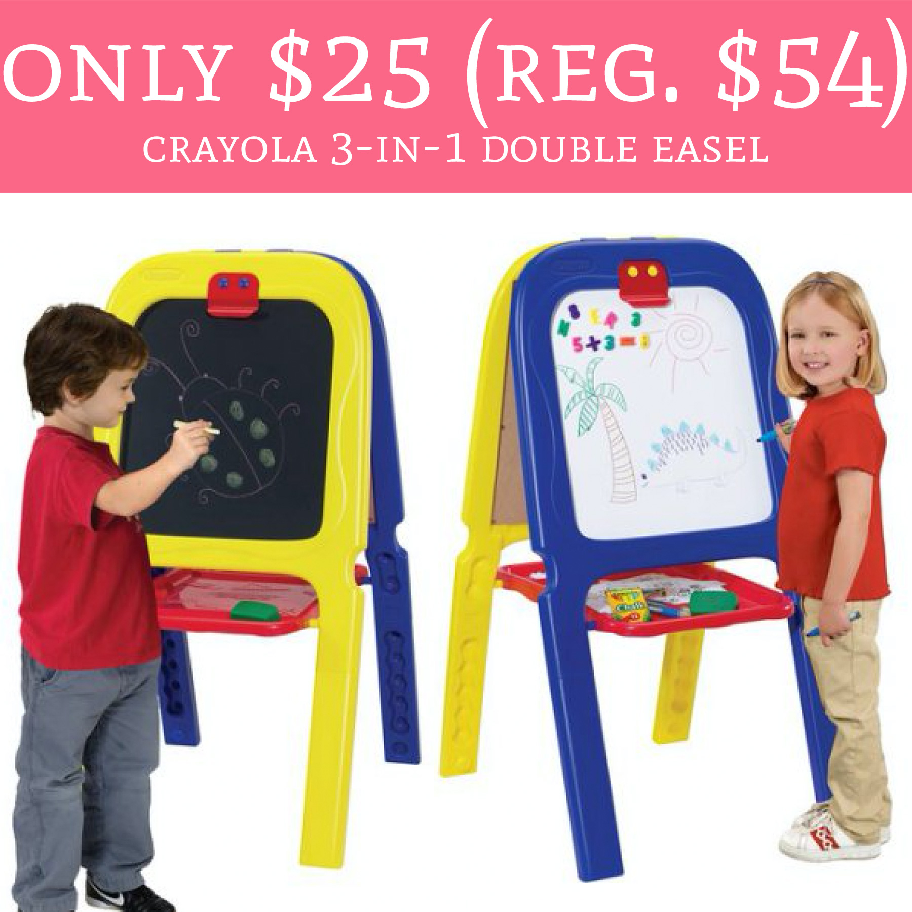 crayola 3 in 1 double easel with magnetic letters wow only 25 regular 54 crayola 3 in 1 sided 21223 | crayola 3 in 1 easel
