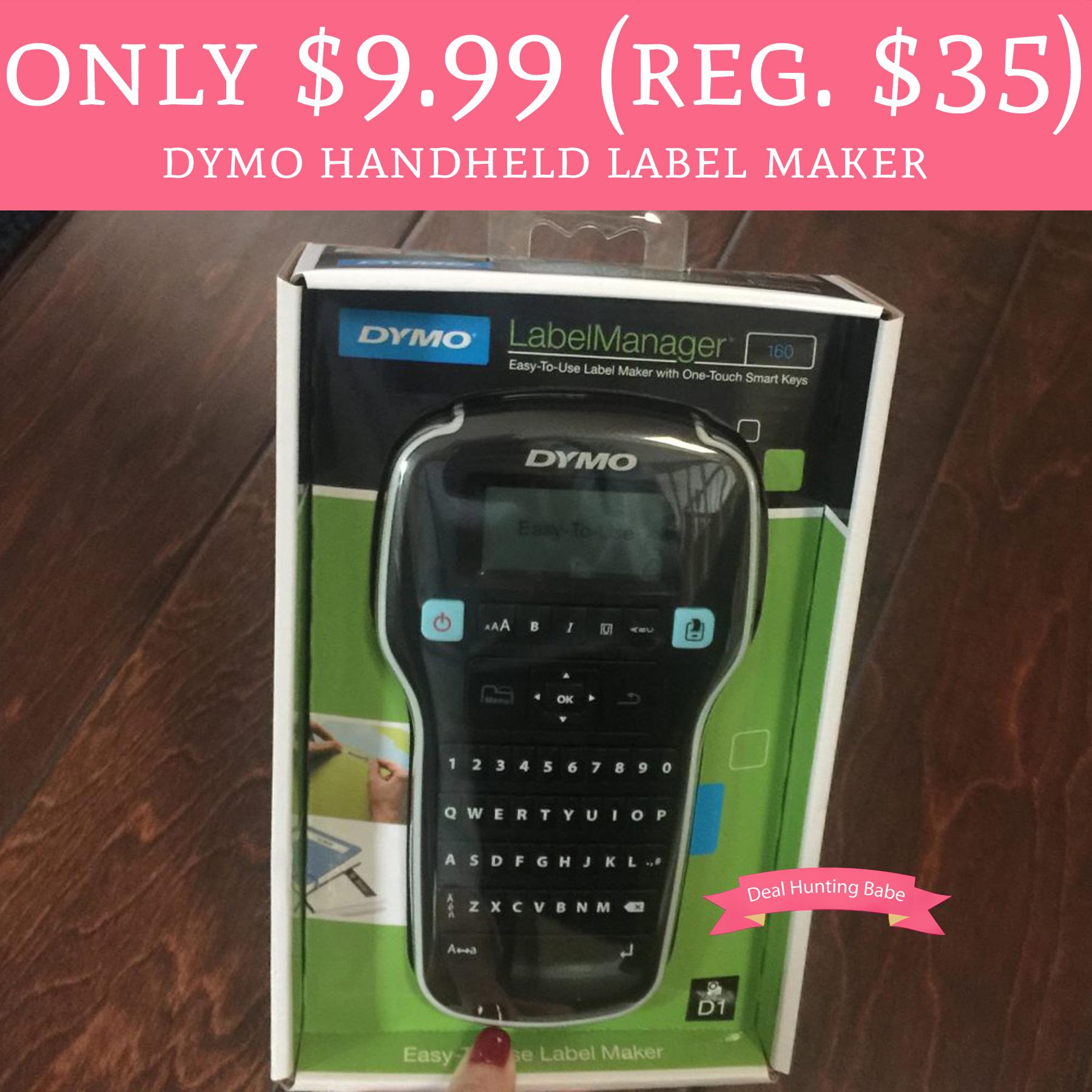 Only 999 Reg 35 DYMO Handheld Label Maker Free Shipping – Free Shipping Label Maker