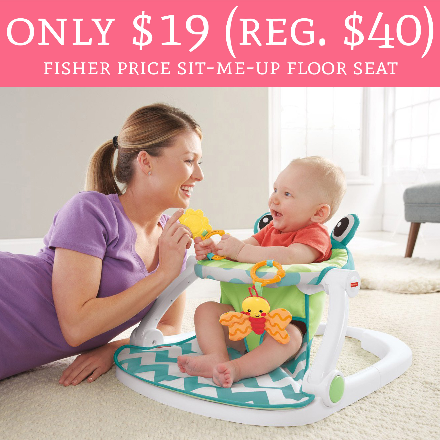 HOT ly Regular Fisher Price Sit Me Up Floor Seat