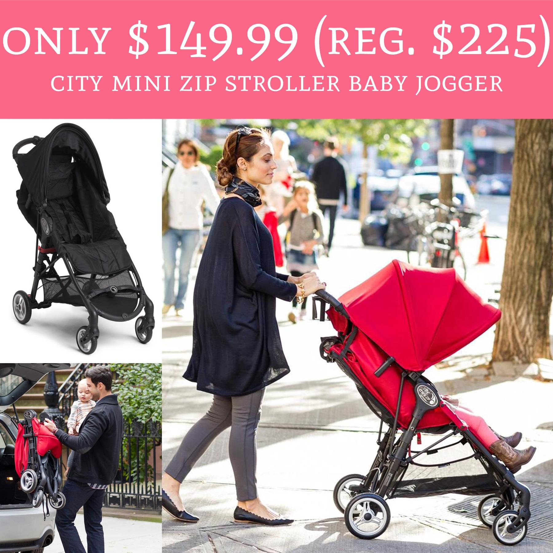 Rare Only 149 99 Regular 225 City Mini Zip Stroller