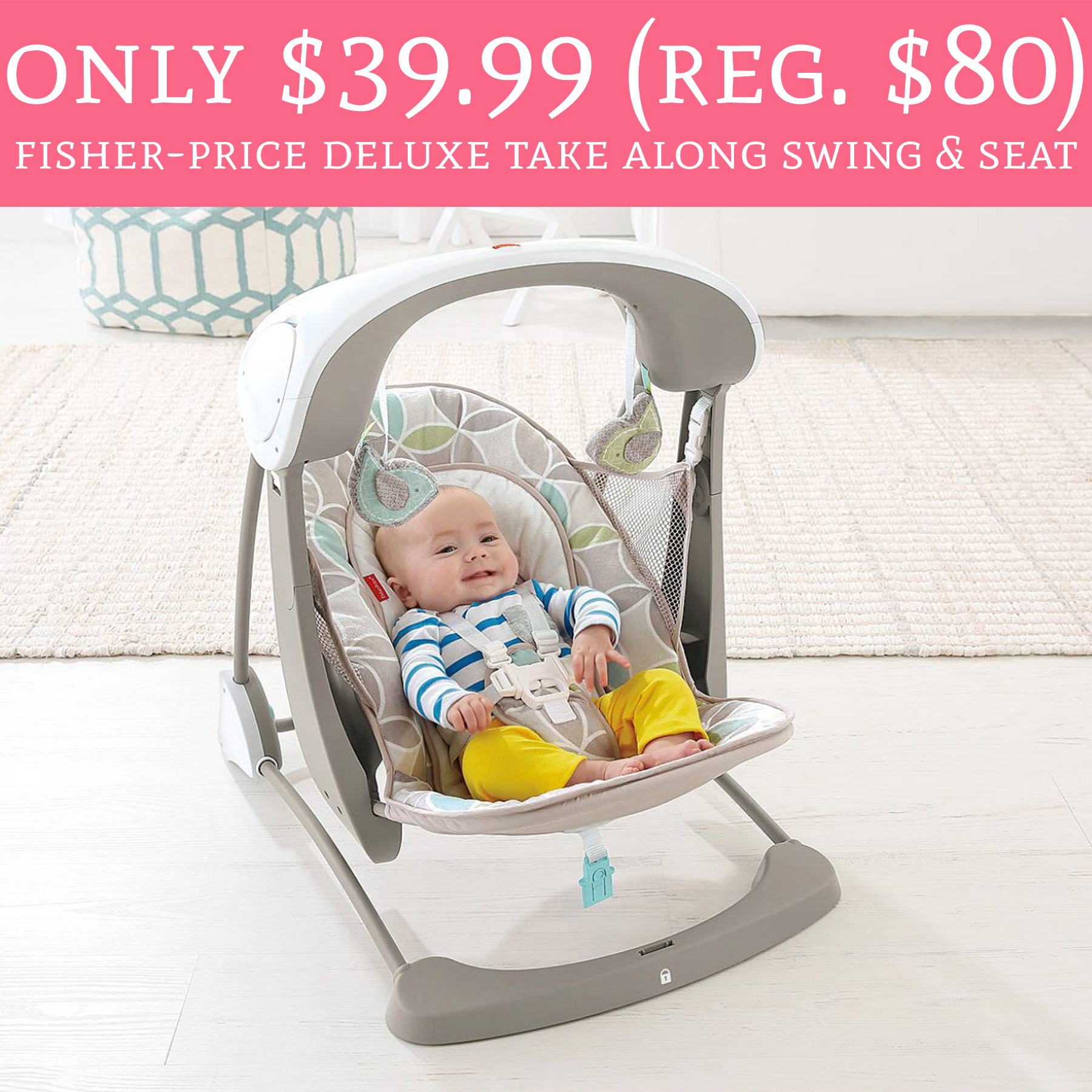 HOT ly $39 99 Regular $80 Fisher Price Deluxe Take Along