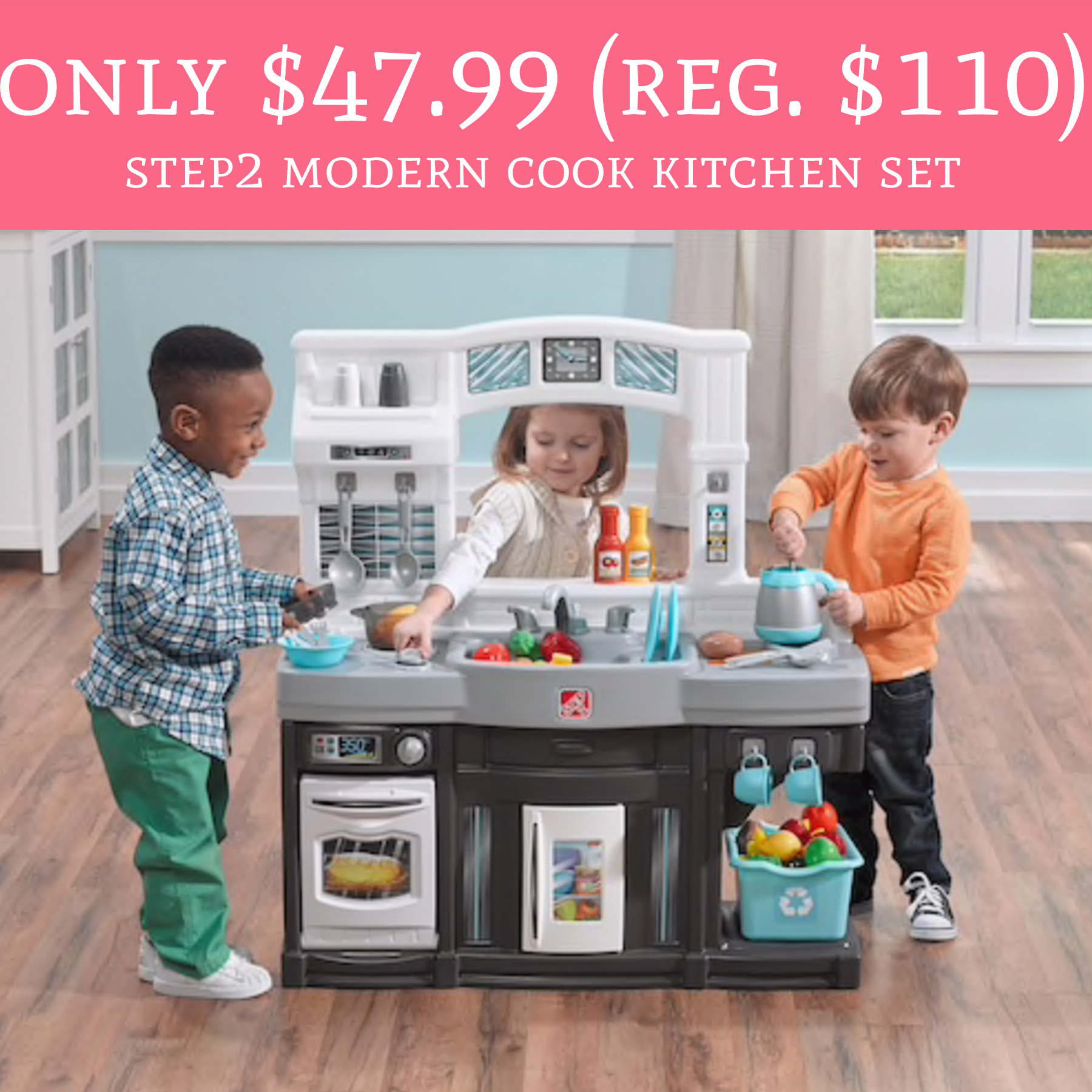 Step Modern Cook Kitchen Set