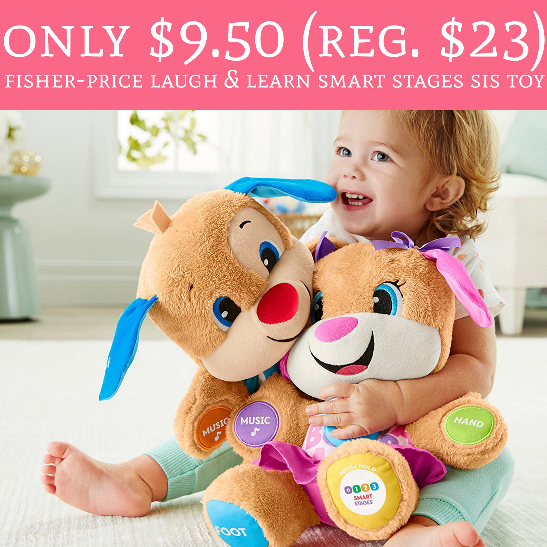 Hot Only 950 Regular 23 Fisher Price Laugh Learn Smart Phone Snag One For The Holidays Head To Amazon Score
