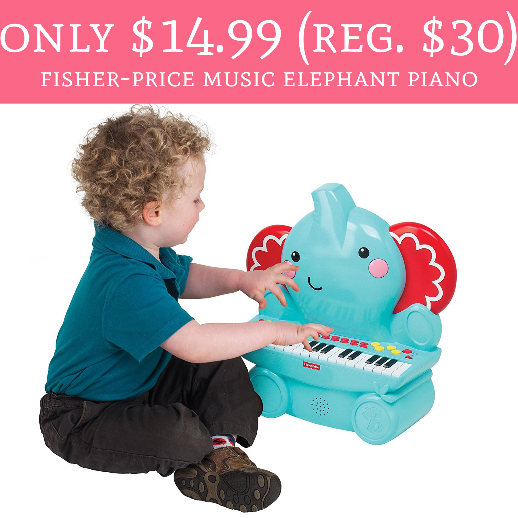 Only 14 99 Regular 30 Fisher Price Music Elephant