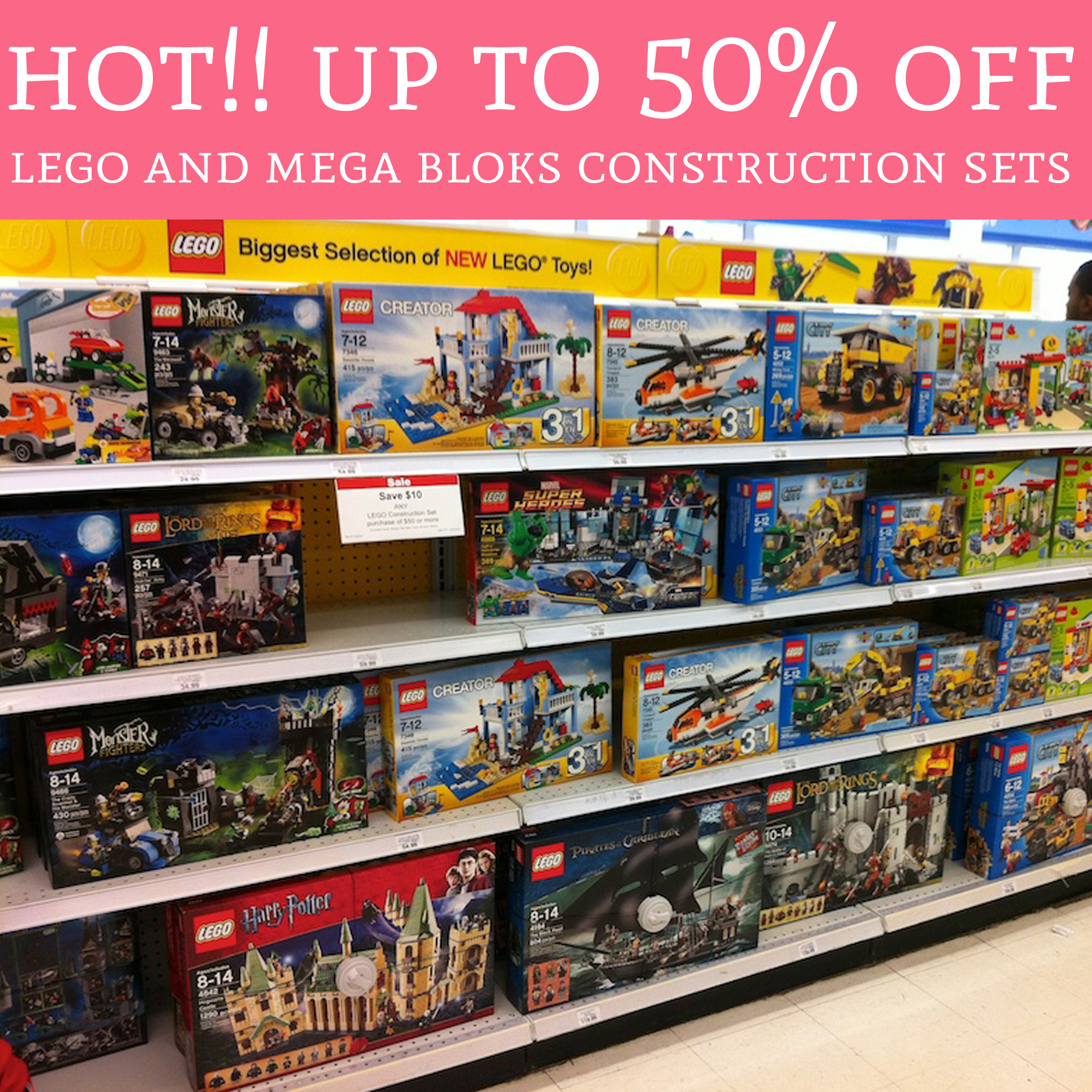 Feb 19, · Valid Sunday 2/19 through Saturday 2/25, Buy One, Get One 50% Off ALL LEGO construction sets and board games. And by ALL, Toys R Us is excluding Friends, Mindstorms and Star ashedplan.gq always, be sure to buy similarly priced sets to maximize your savings.