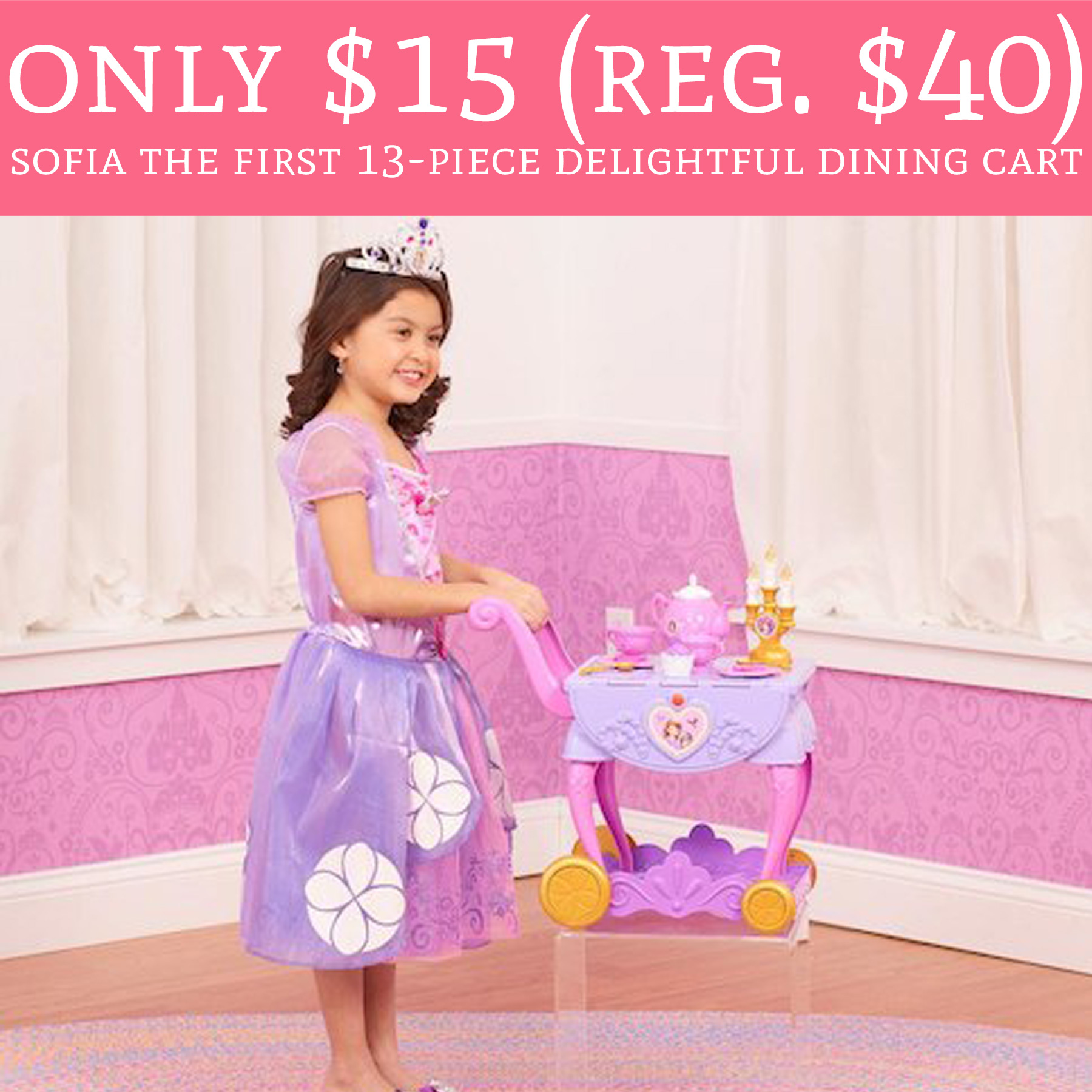 Only 15 Regular 40 Sofia The First 13 Piece Delightful