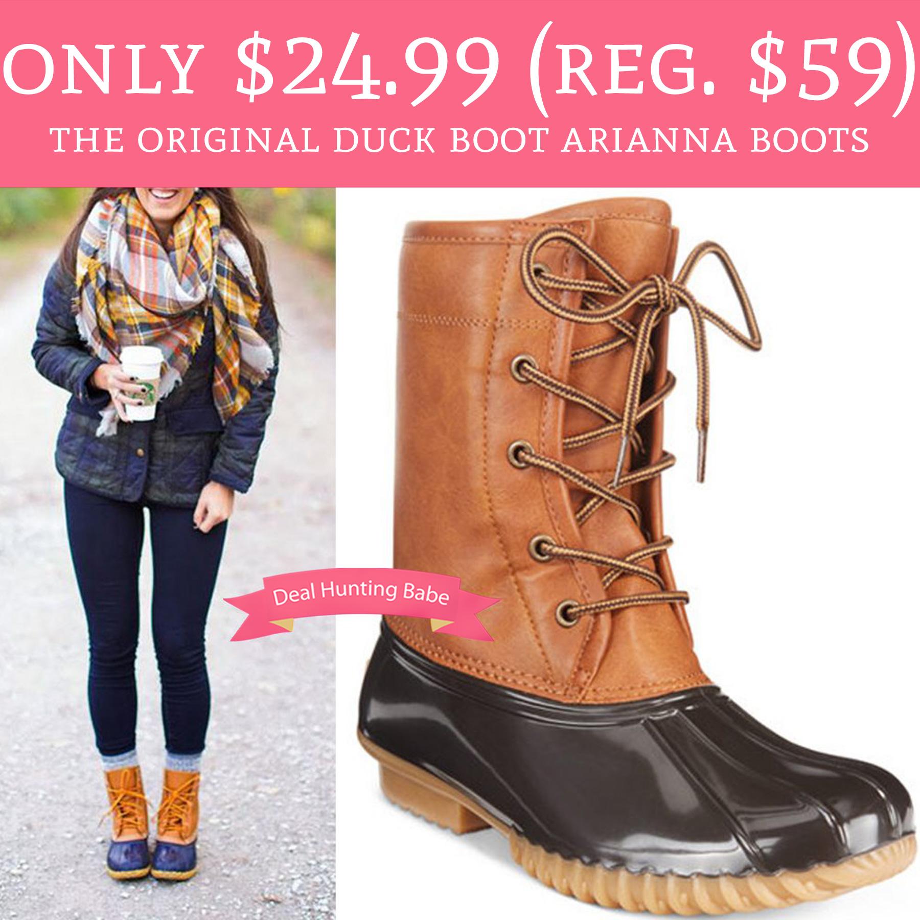 Original Duck Boot Arianna Boots