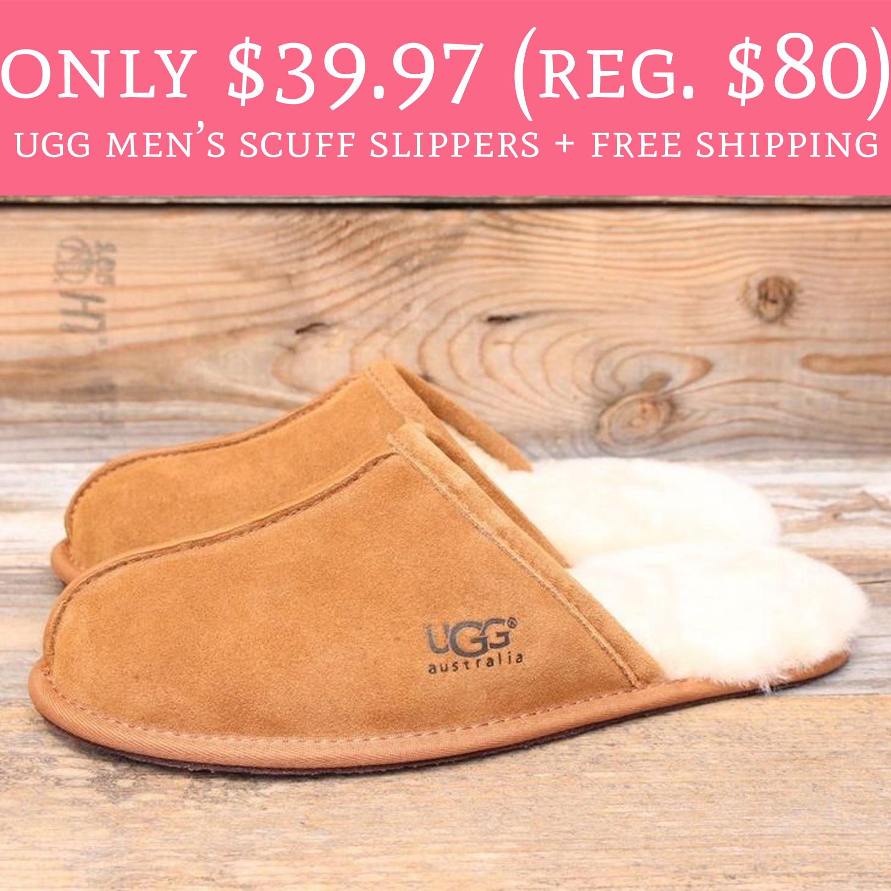 HOT Deal on Ugg slippers!!