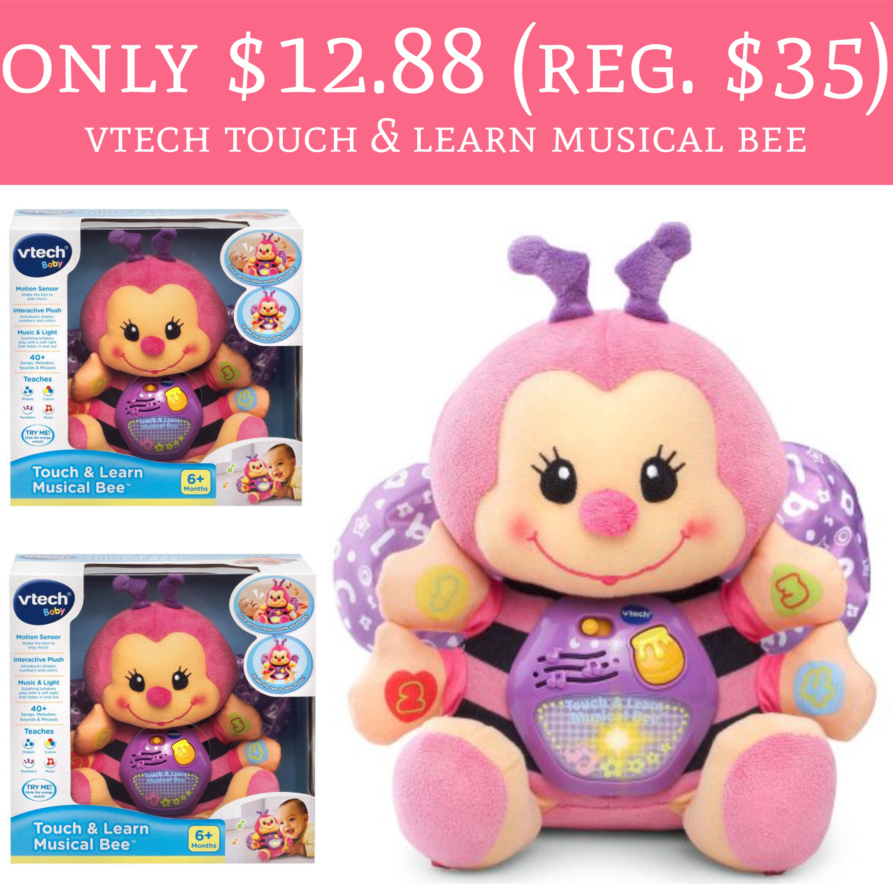 Vtech touch and learn music bee - Review Stream