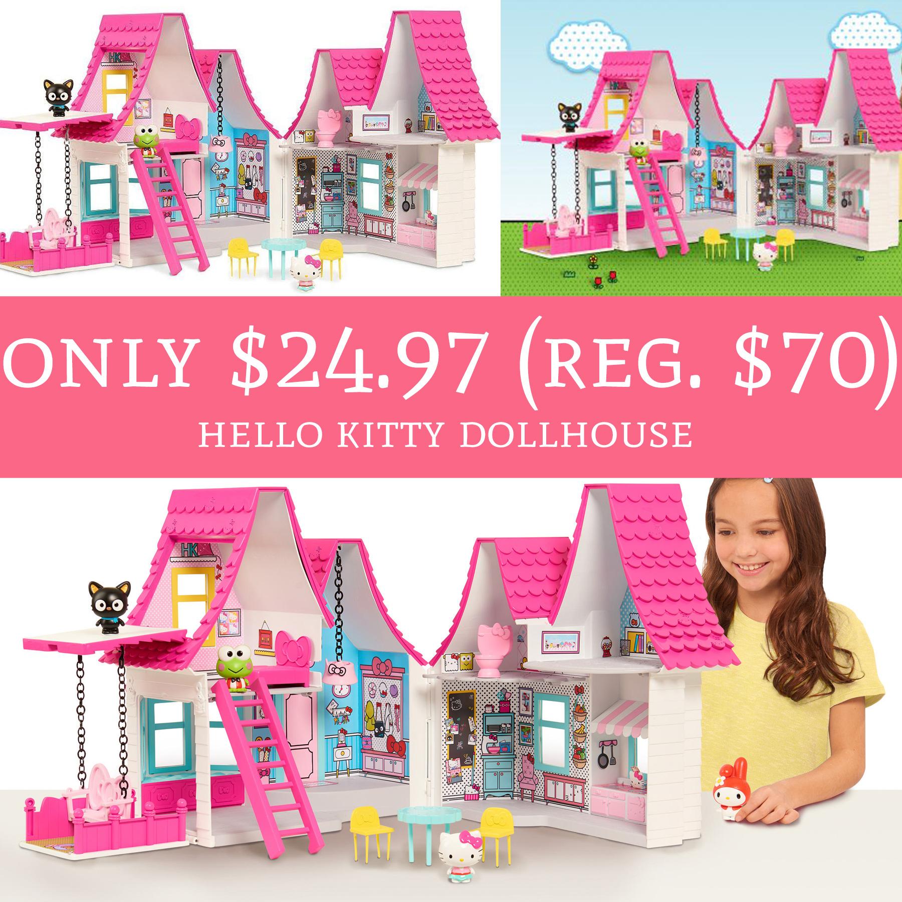 Run Lowest Price Only 24 97 Regular 70 Hello Kitty Dollhouse