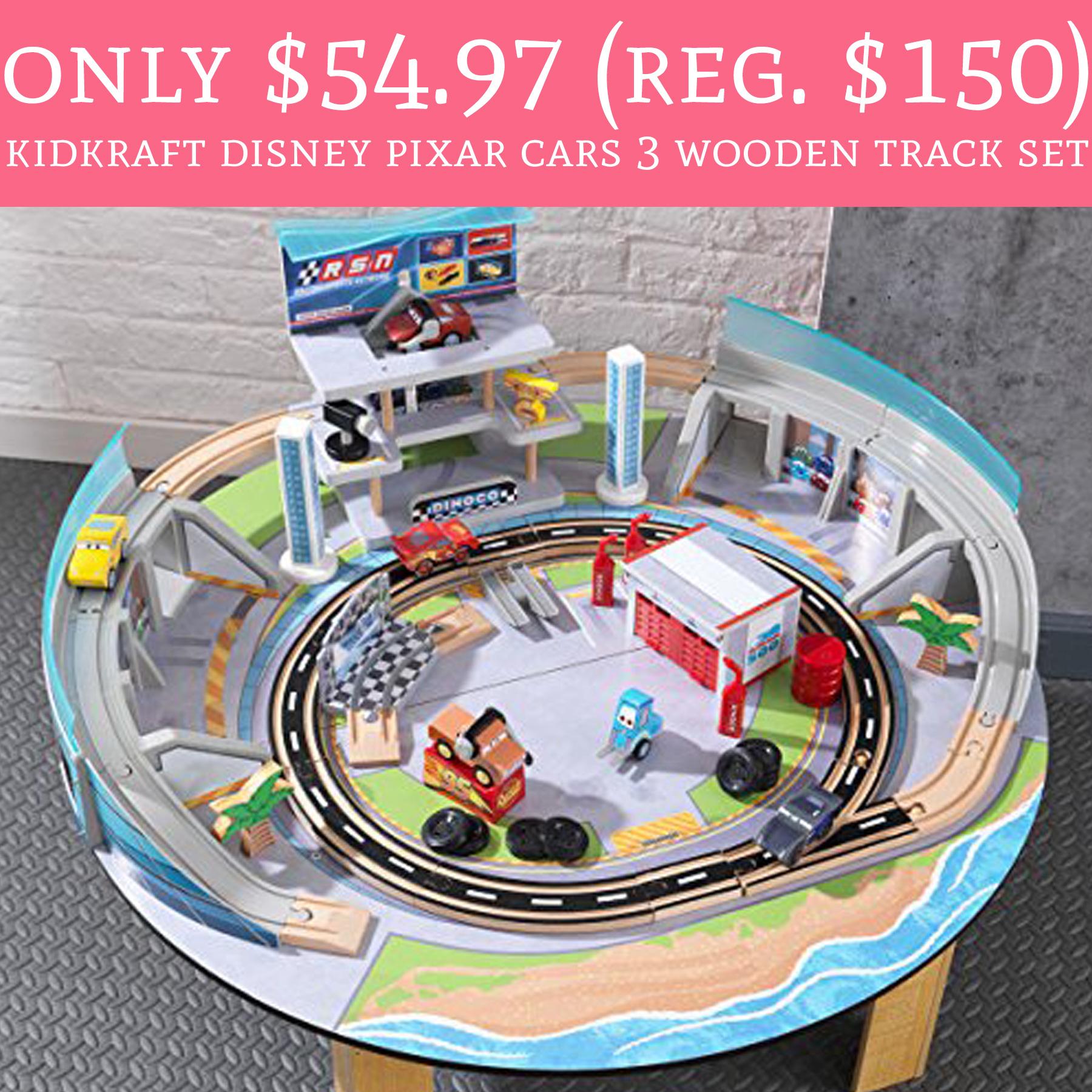 Kidkraft Disney Pixar Cars 3 Wooden Track Set Deal Hunting Babe